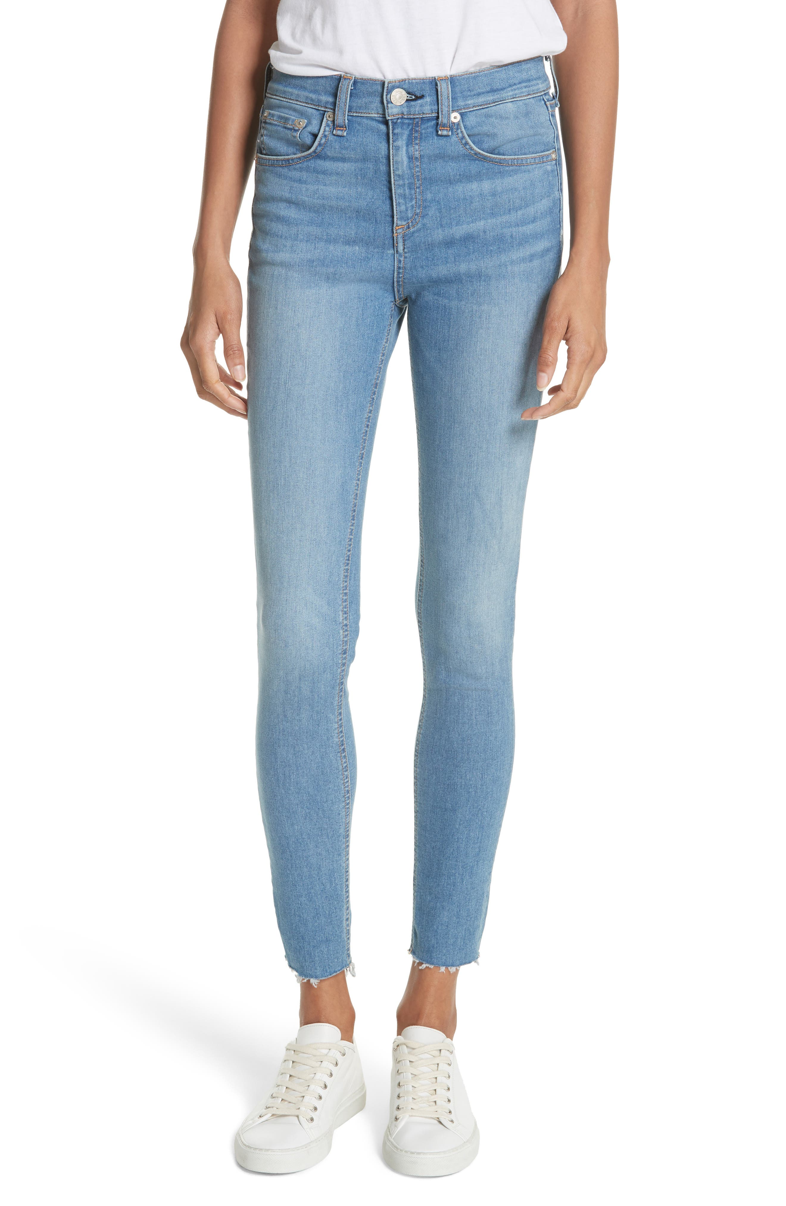 High Waist Skinny Jeans,                             Main thumbnail 1, color,