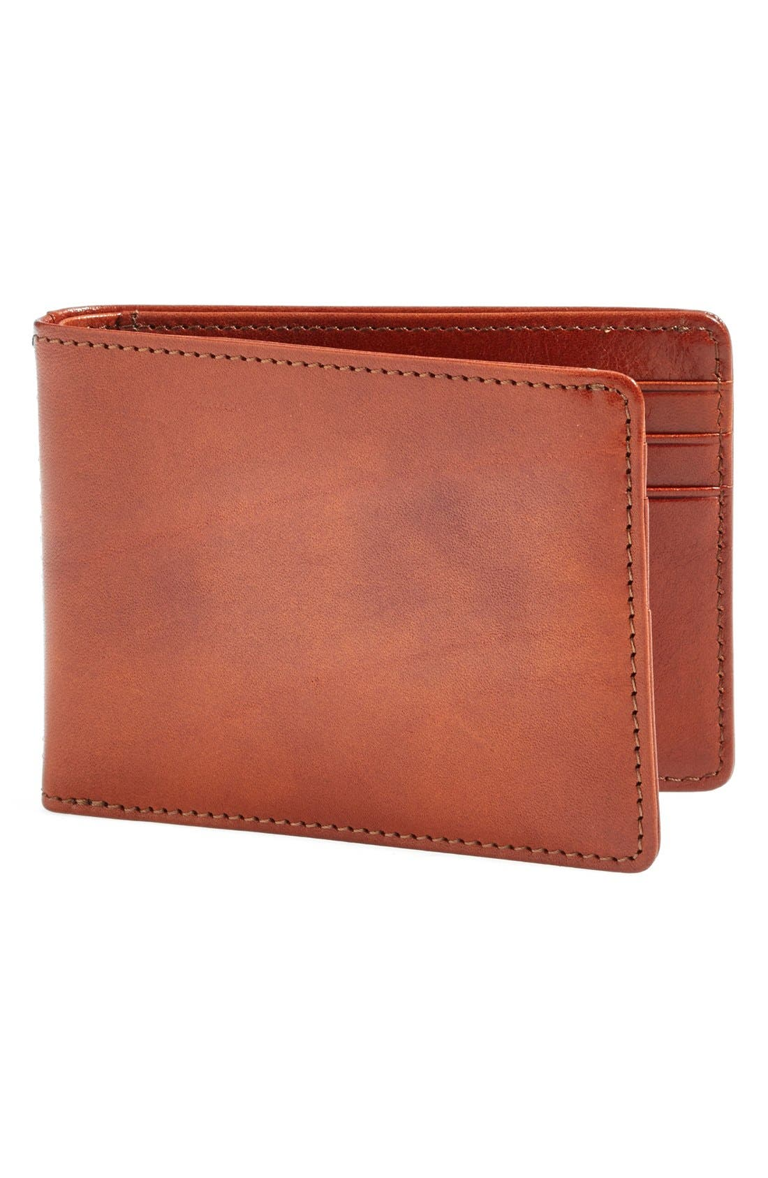 Small Bifold Wallet,                         Main,                         color, AMBER