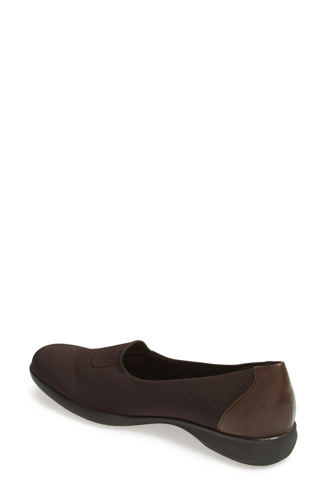 'Signature Jake' Slip On,                             Alternate thumbnail 4, color,                             DARK BROWN