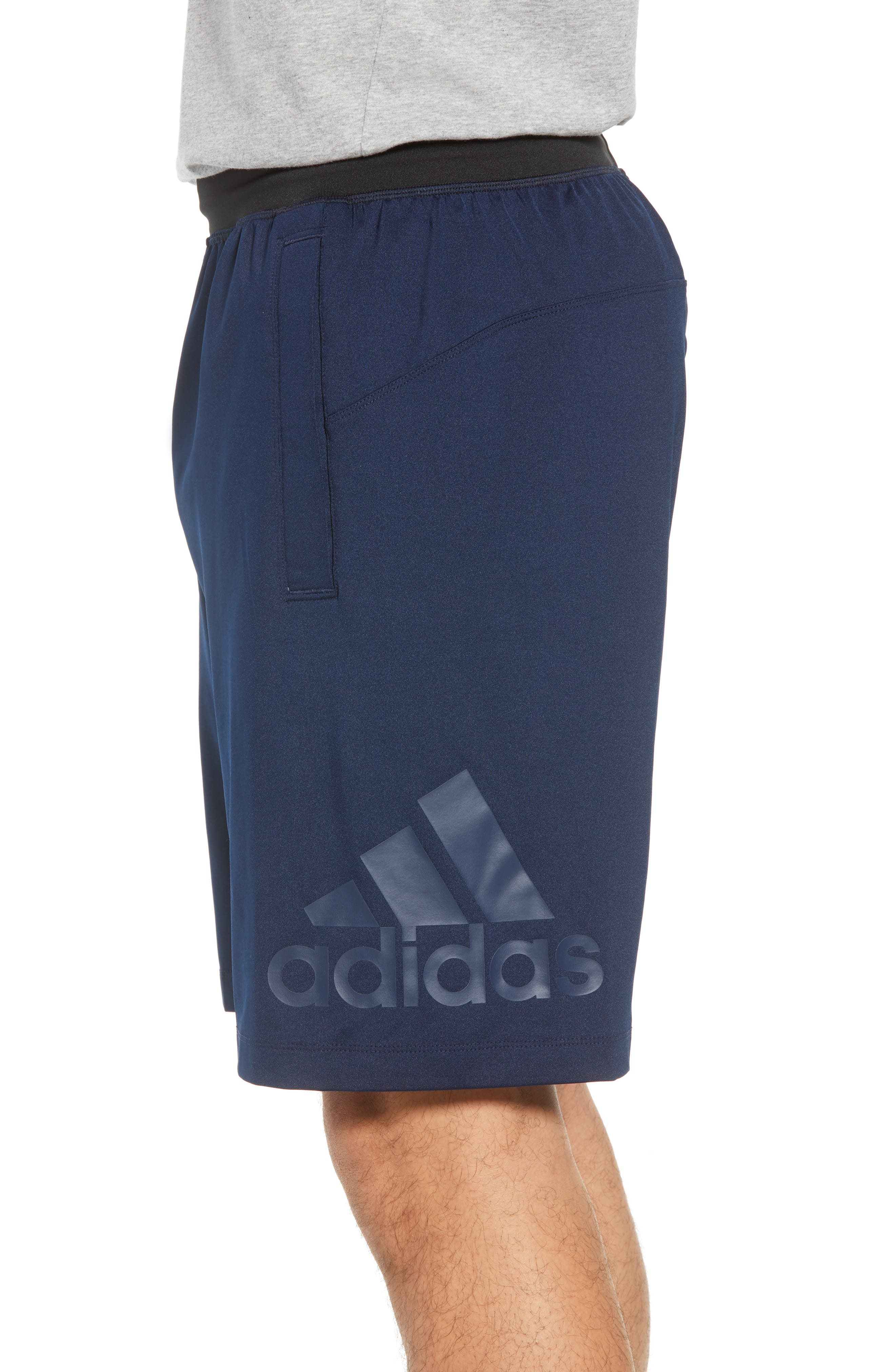 SB Hype Icon Shorts,                             Alternate thumbnail 3, color,                             COLLEGIATE NAVY/ BLACK