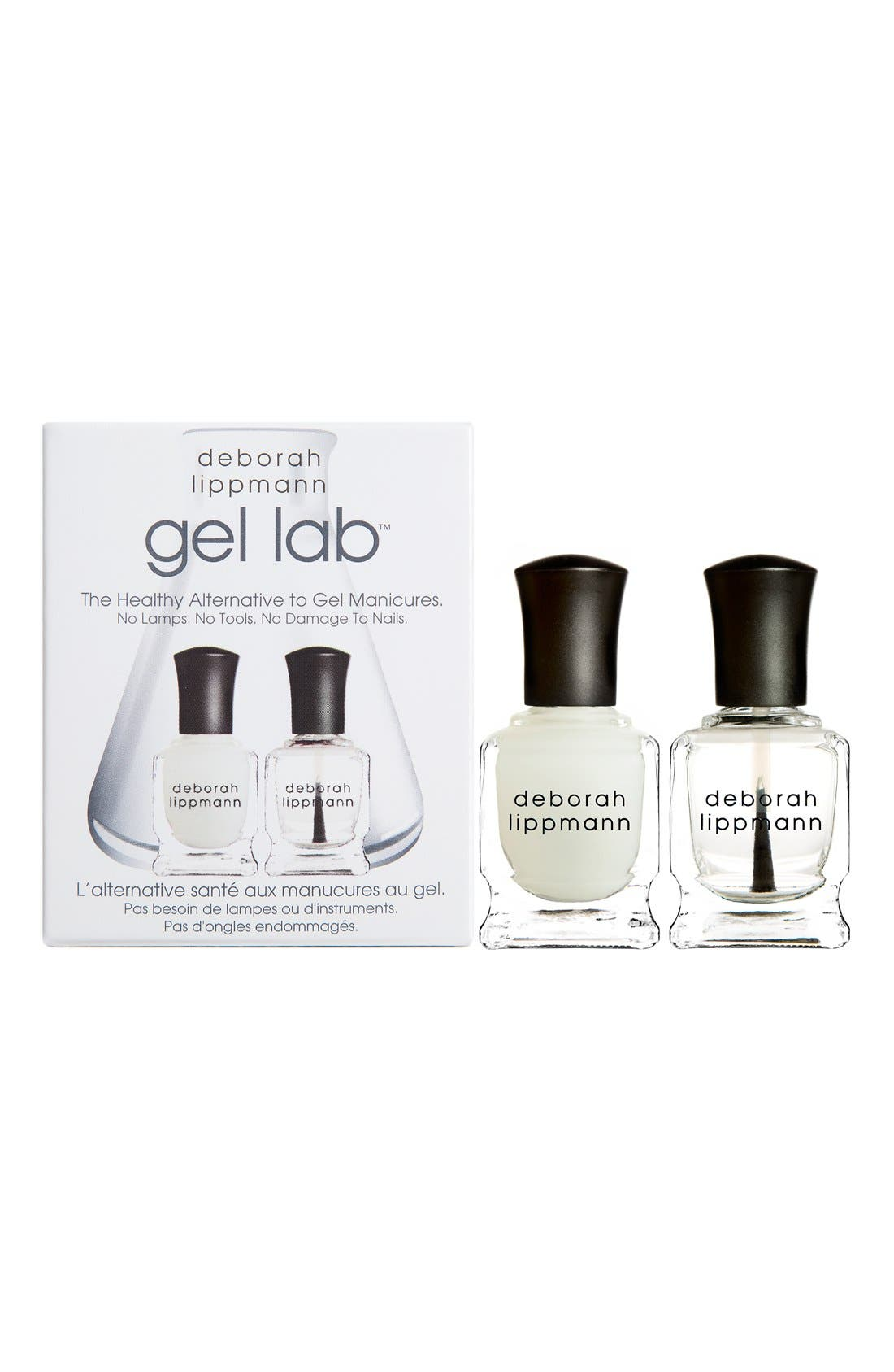 'Gel Lab' Mini Top & Base Coat Duo,                             Alternate thumbnail 2, color,                             000
