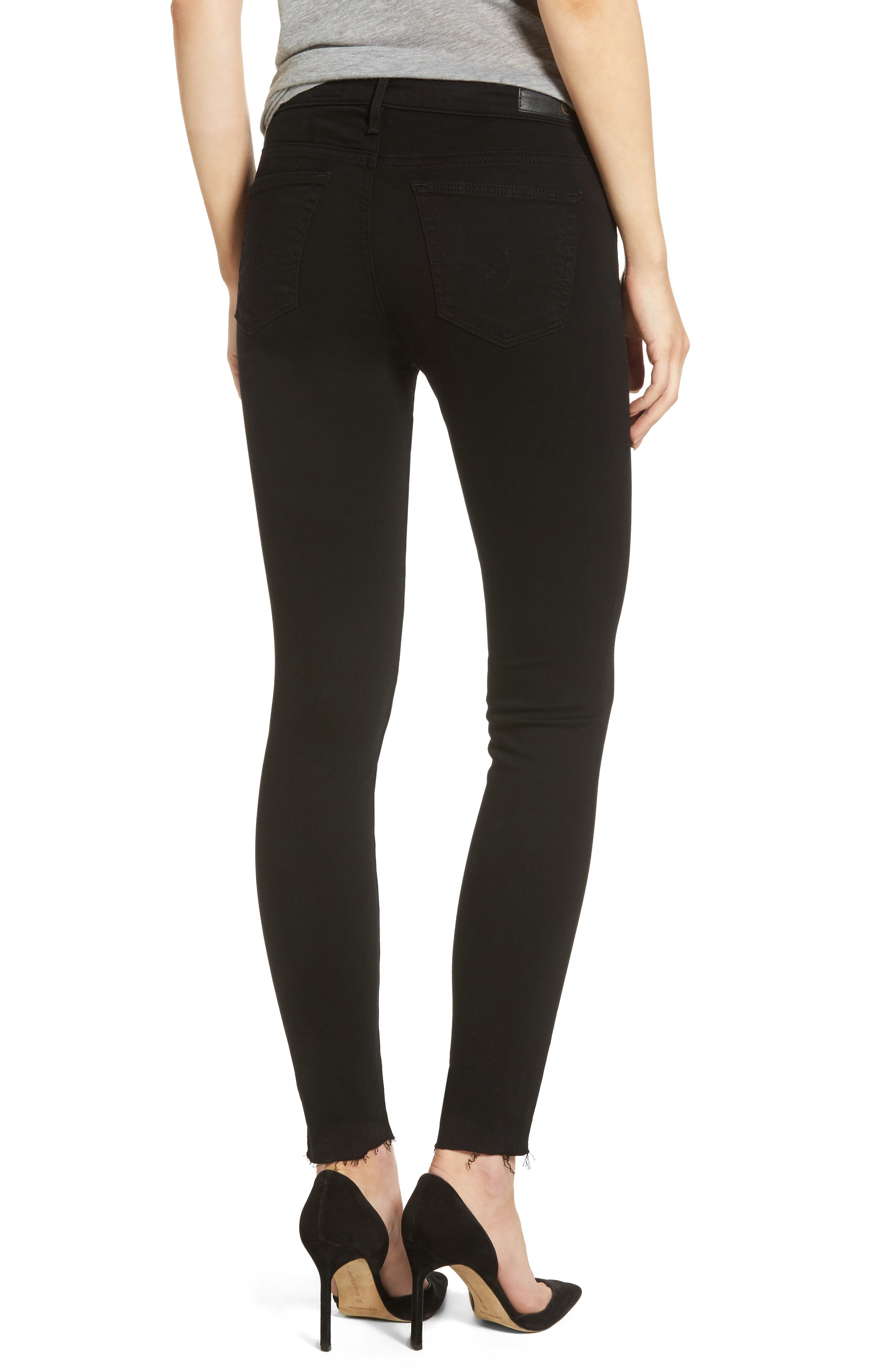 The Legging Ripped Super Skinny Jeans,                             Alternate thumbnail 2, color,                             006