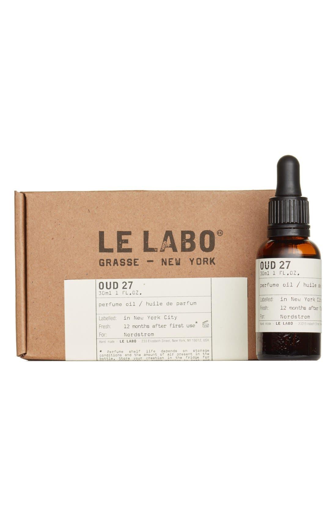'Oud 27' Perfume Oil,                             Alternate thumbnail 4, color,                             NO COLOR