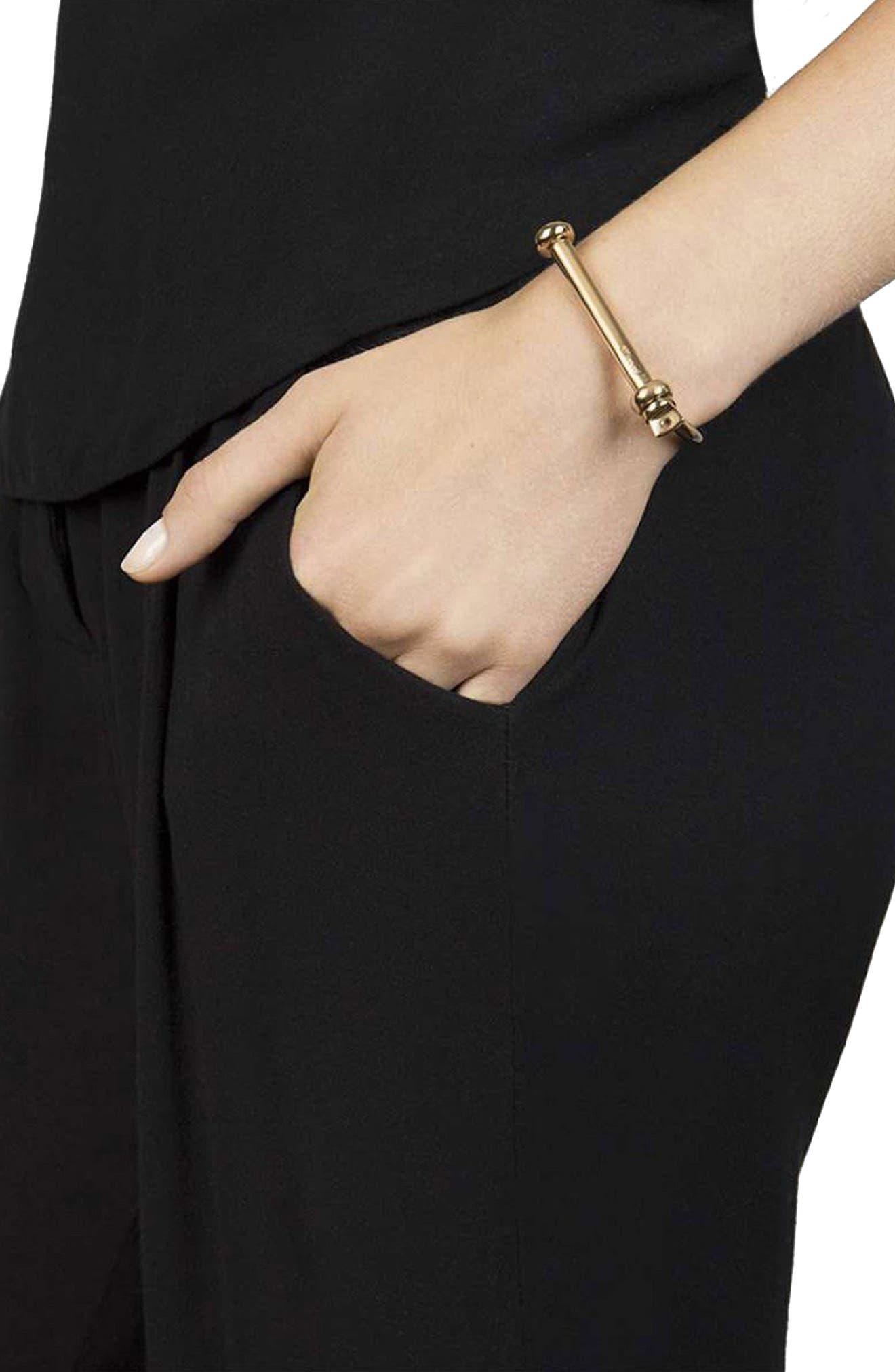 Screw Cuff Bracelet,                             Alternate thumbnail 2, color,                             710