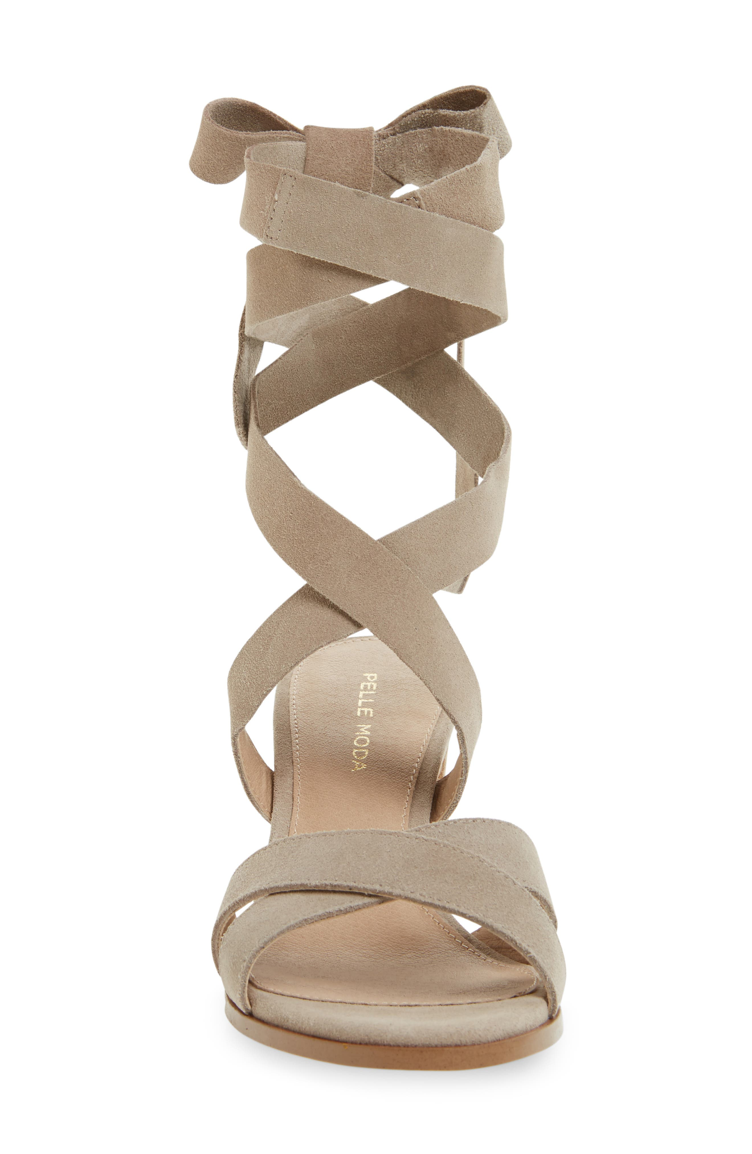 Bonjour Ankle Wrap Sandal,                             Alternate thumbnail 8, color,