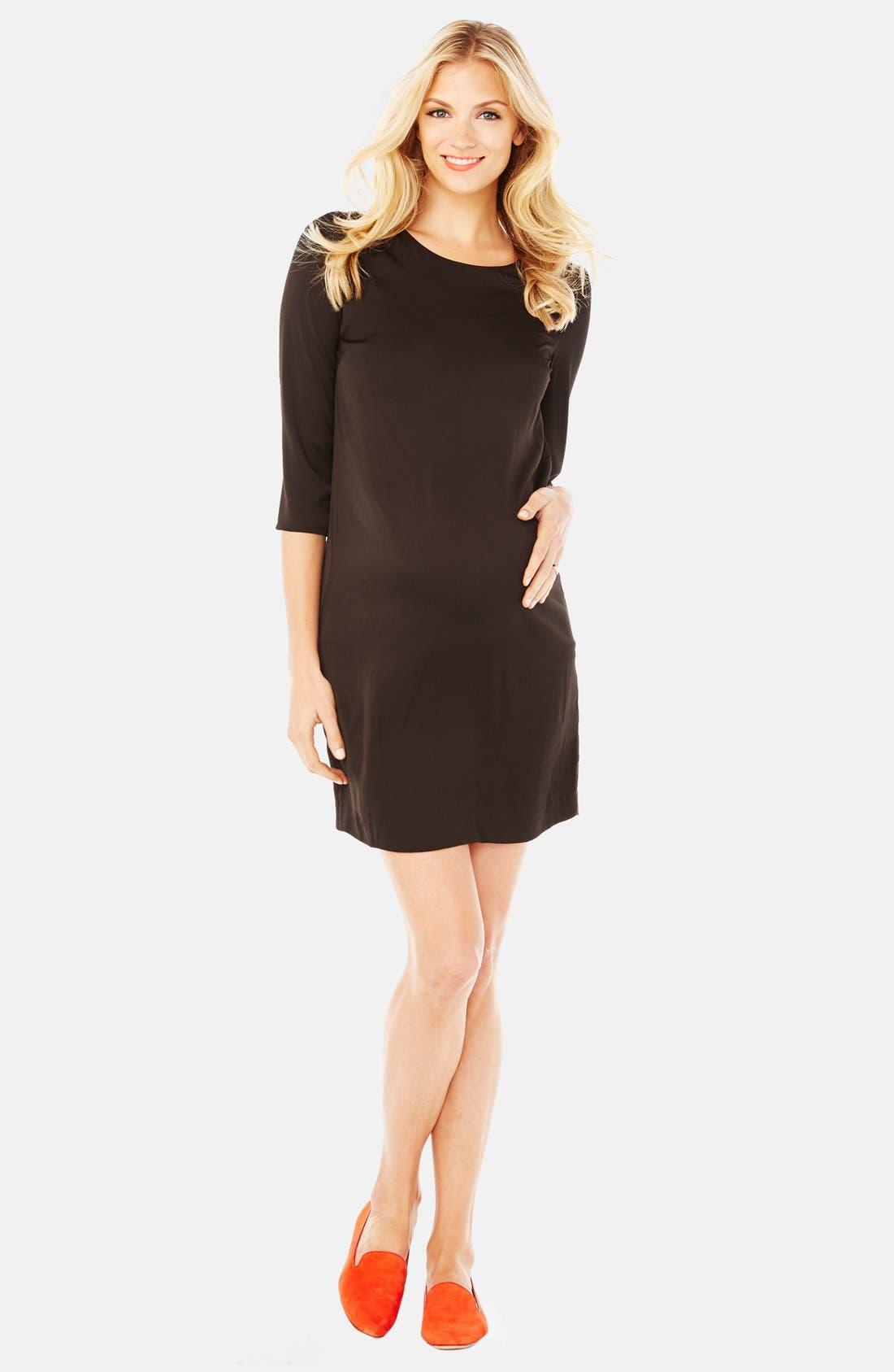 'Sloane' Maternity Dress,                         Main,                         color, 001