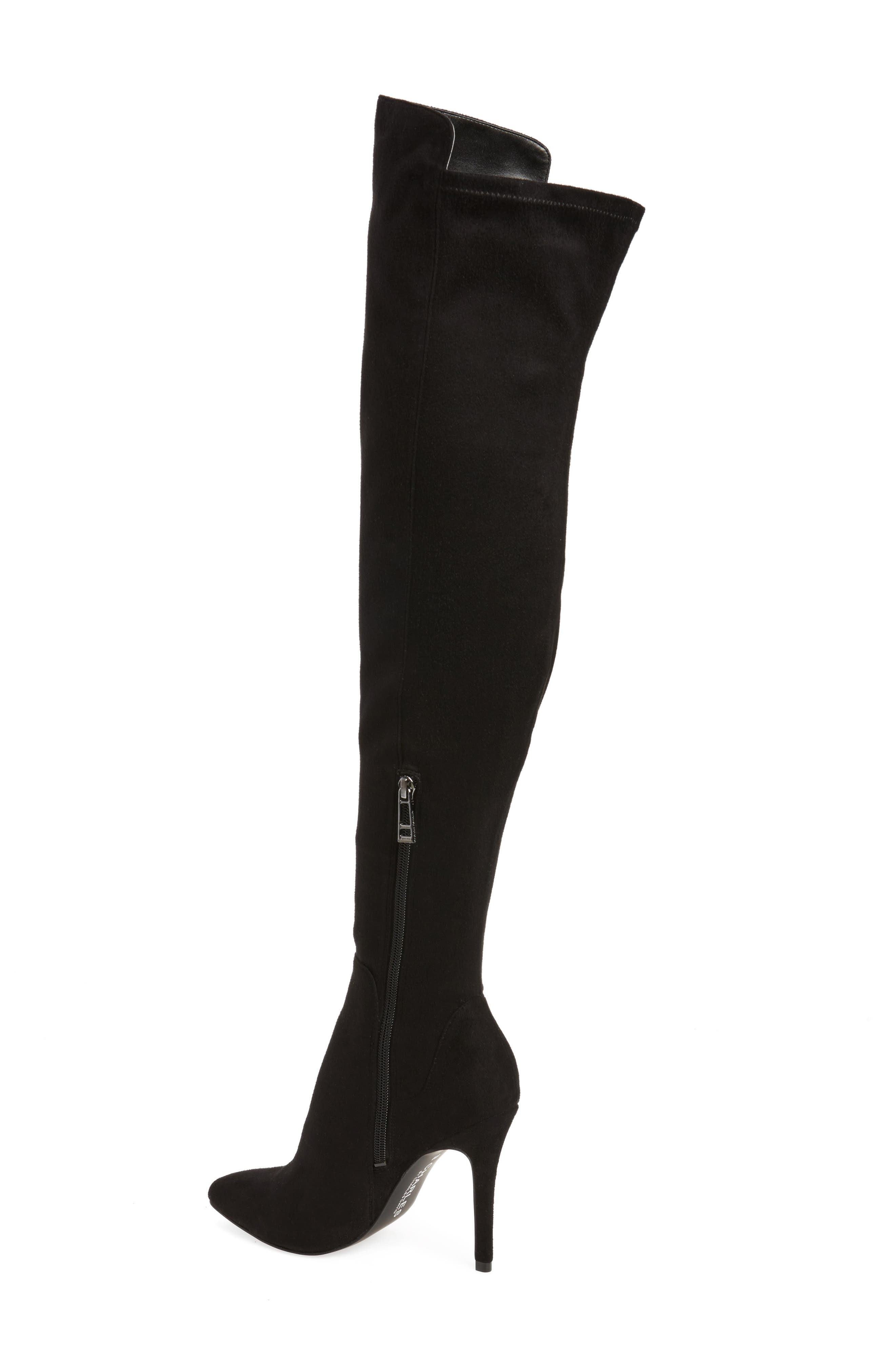 Perfect Over the Knee Boot,                             Alternate thumbnail 5, color,