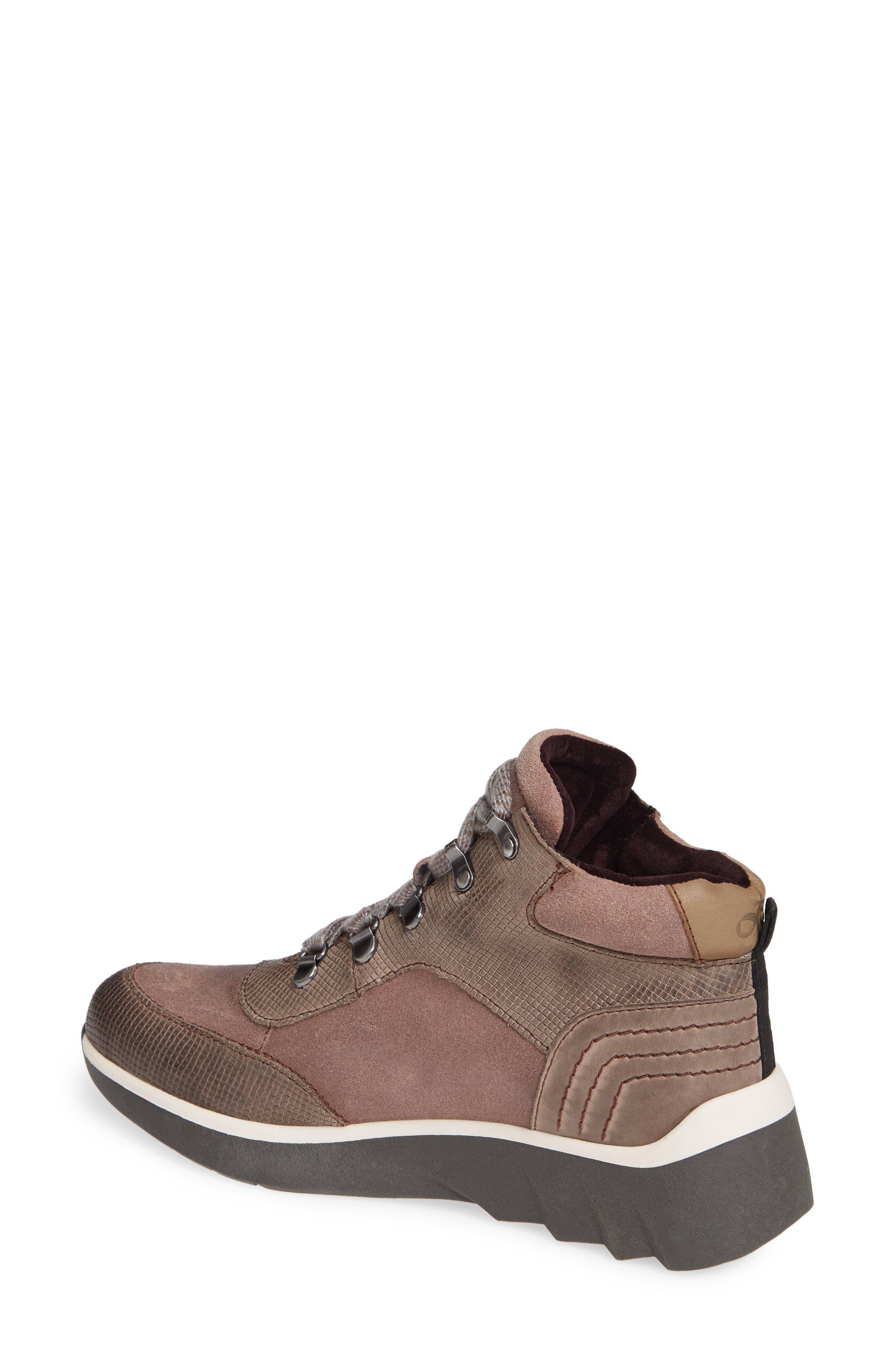 Commuter Sneaker,                             Alternate thumbnail 2, color,                             CINDER LEATHER