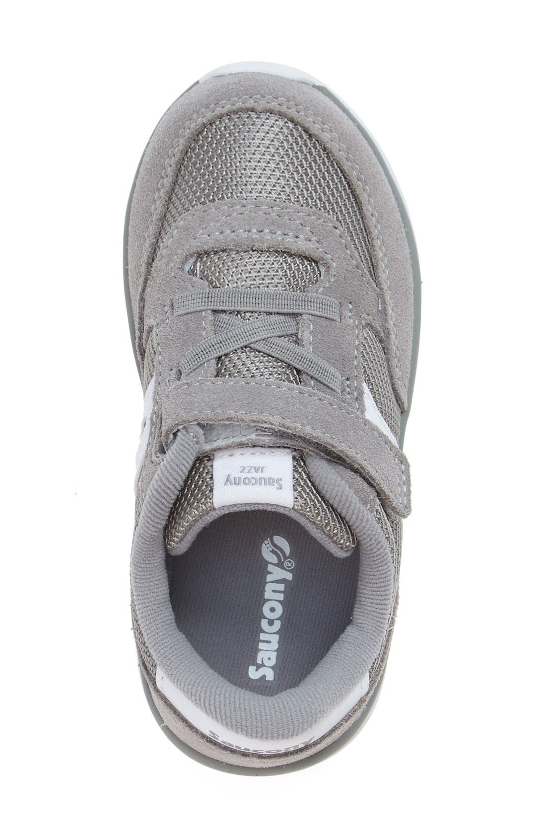 Jazz Lite Sneaker,                             Alternate thumbnail 7, color,                             GREY/ WHITE