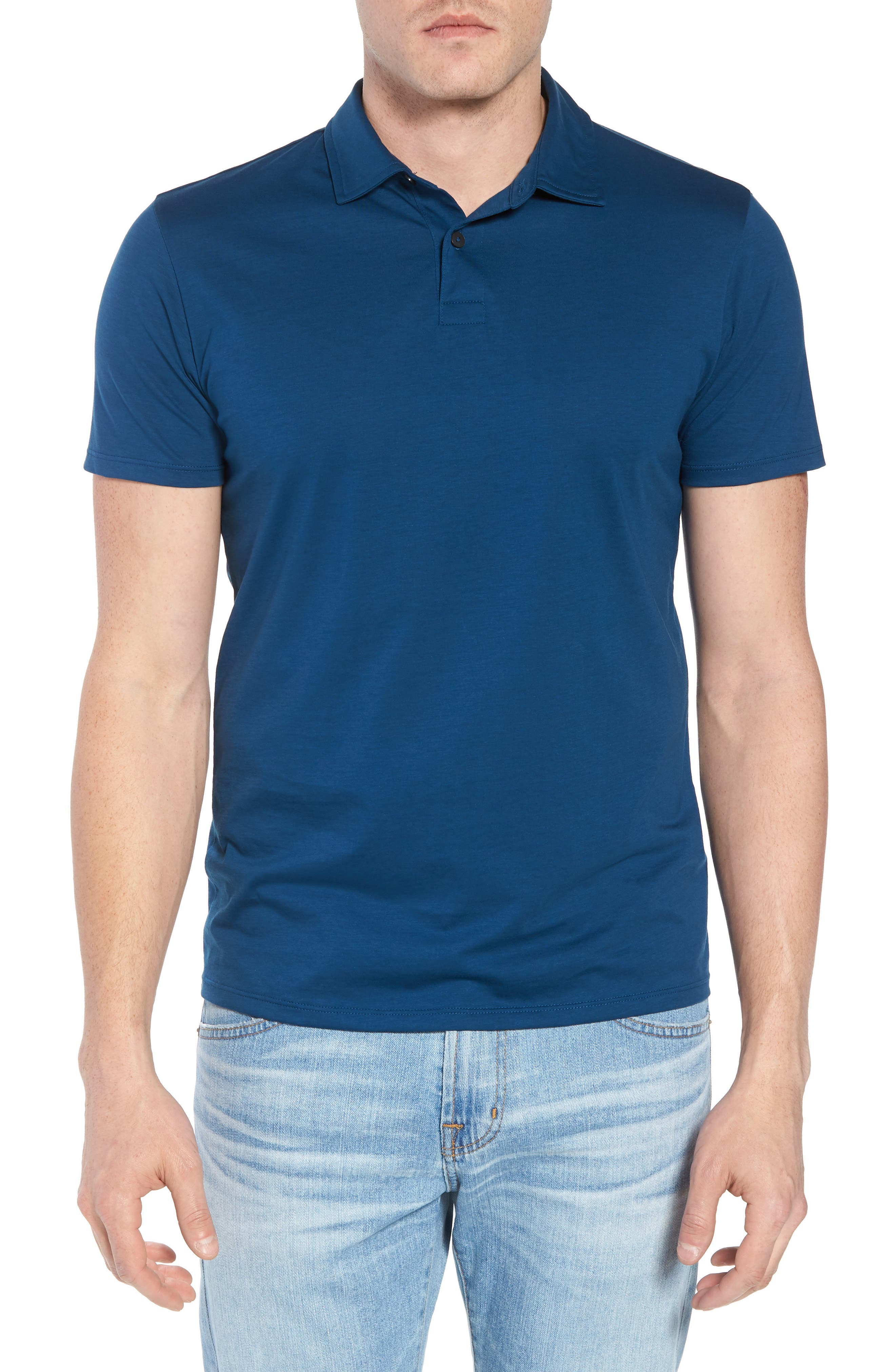 Refined Jersey Polo,                             Main thumbnail 7, color,