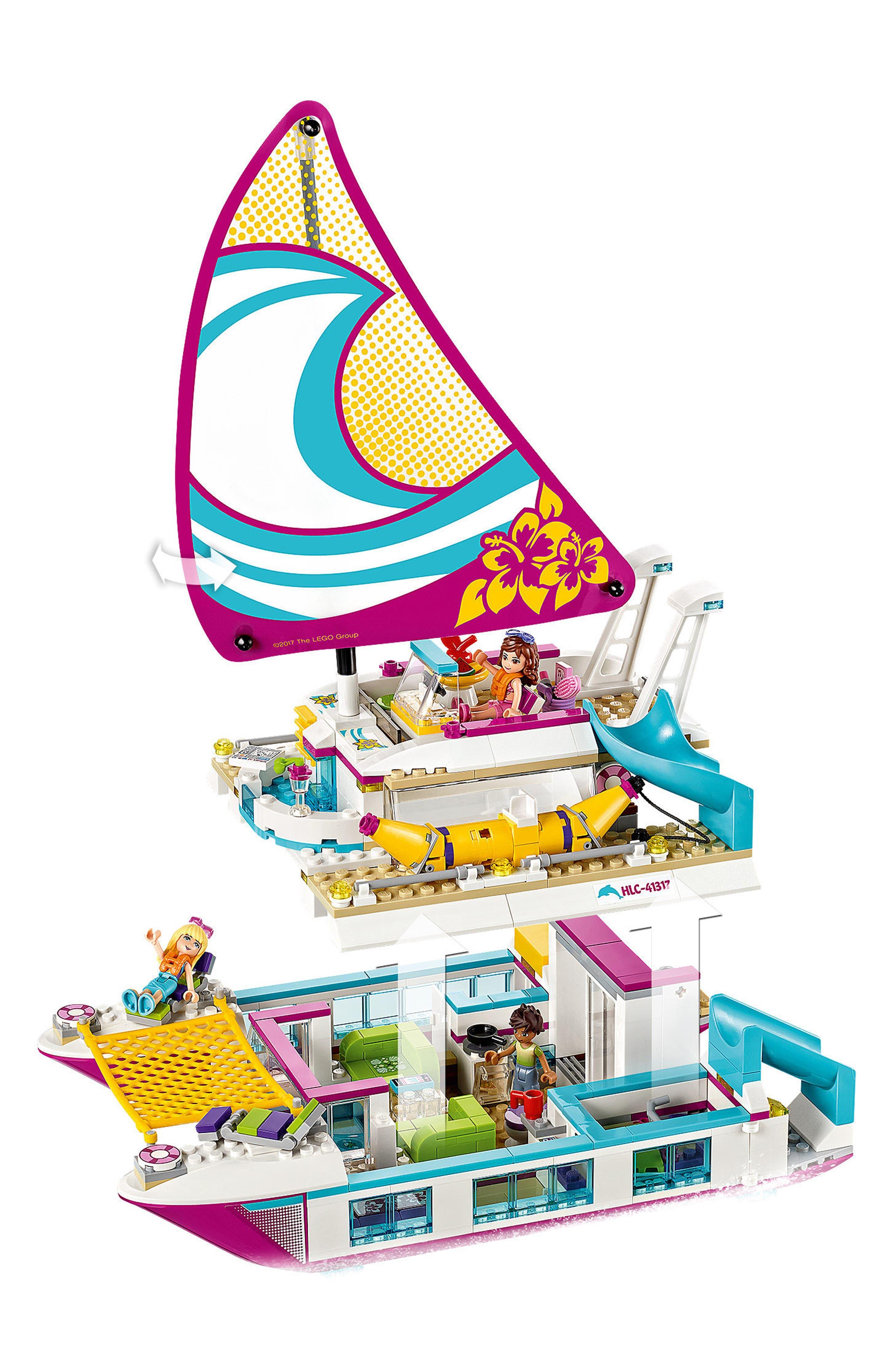 Sunshine Catamaran Play Set - 41317,                             Alternate thumbnail 2, color,                             650