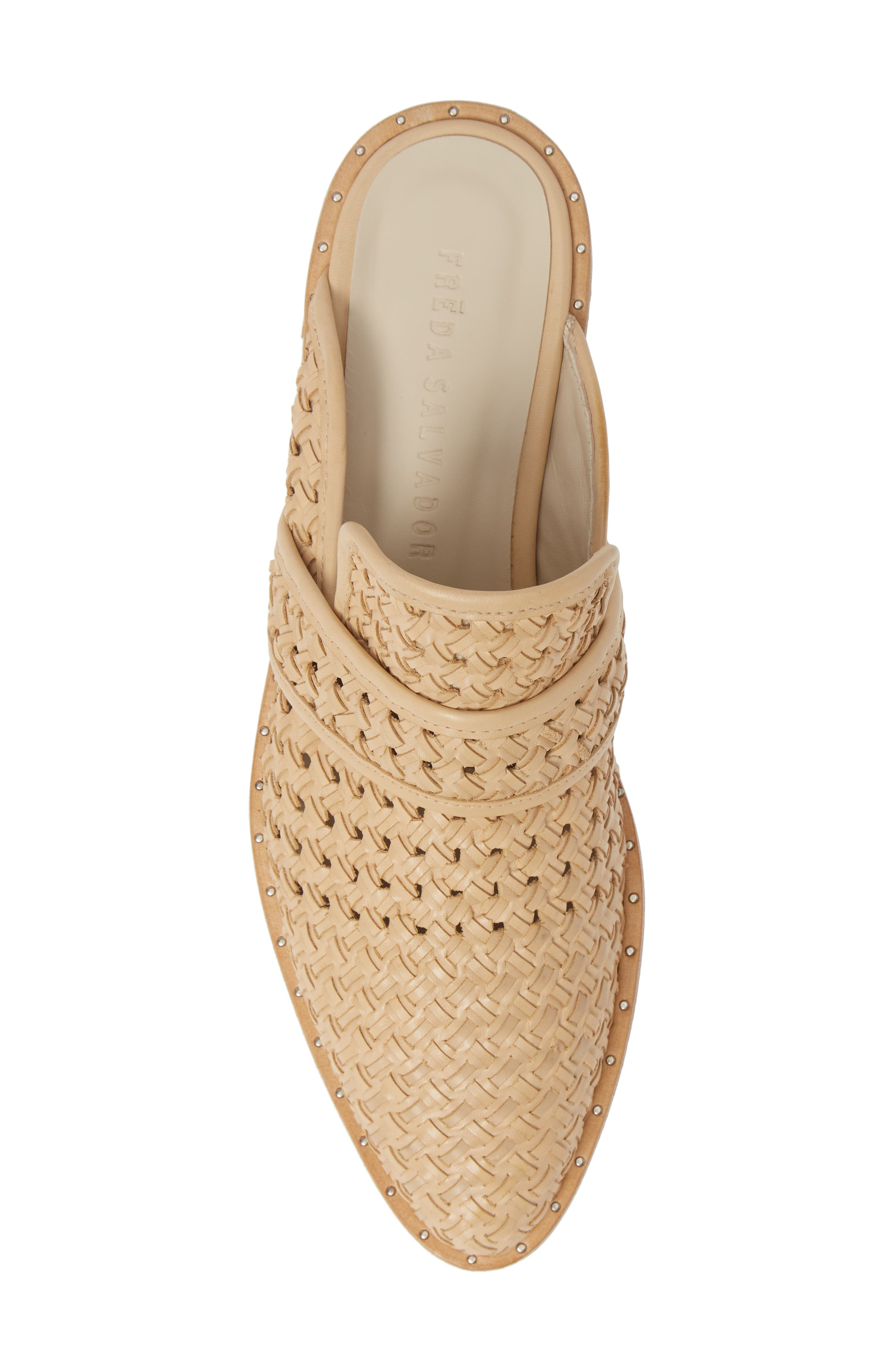 Keen Loafer Mule,                             Alternate thumbnail 5, color,                             NUDE WOVEN