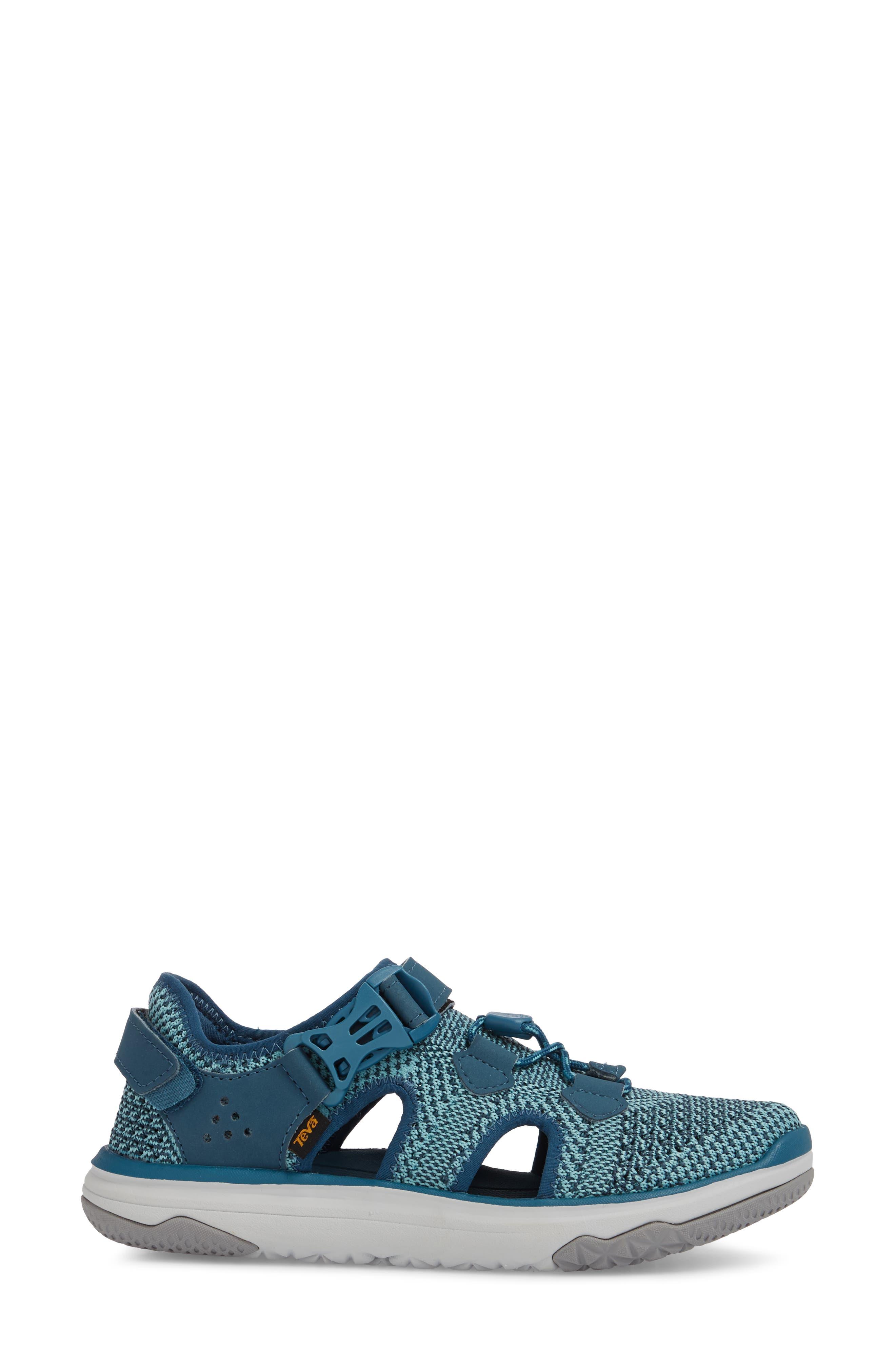 Terra Float Travel Knit Active Sandal,                             Alternate thumbnail 3, color,                             LEGION BLUE