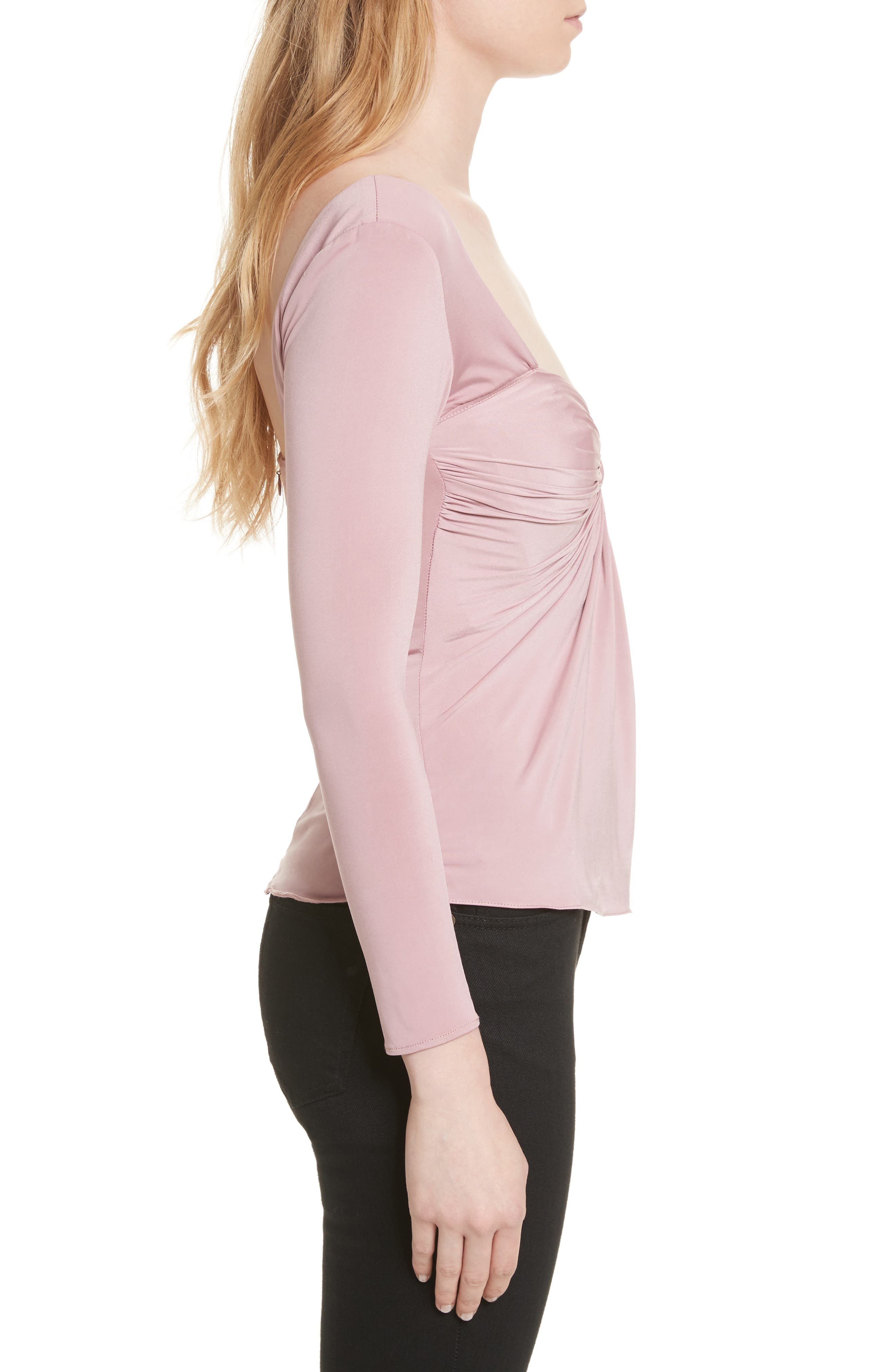 Alle Twist Front Top,                             Alternate thumbnail 3, color,                             662
