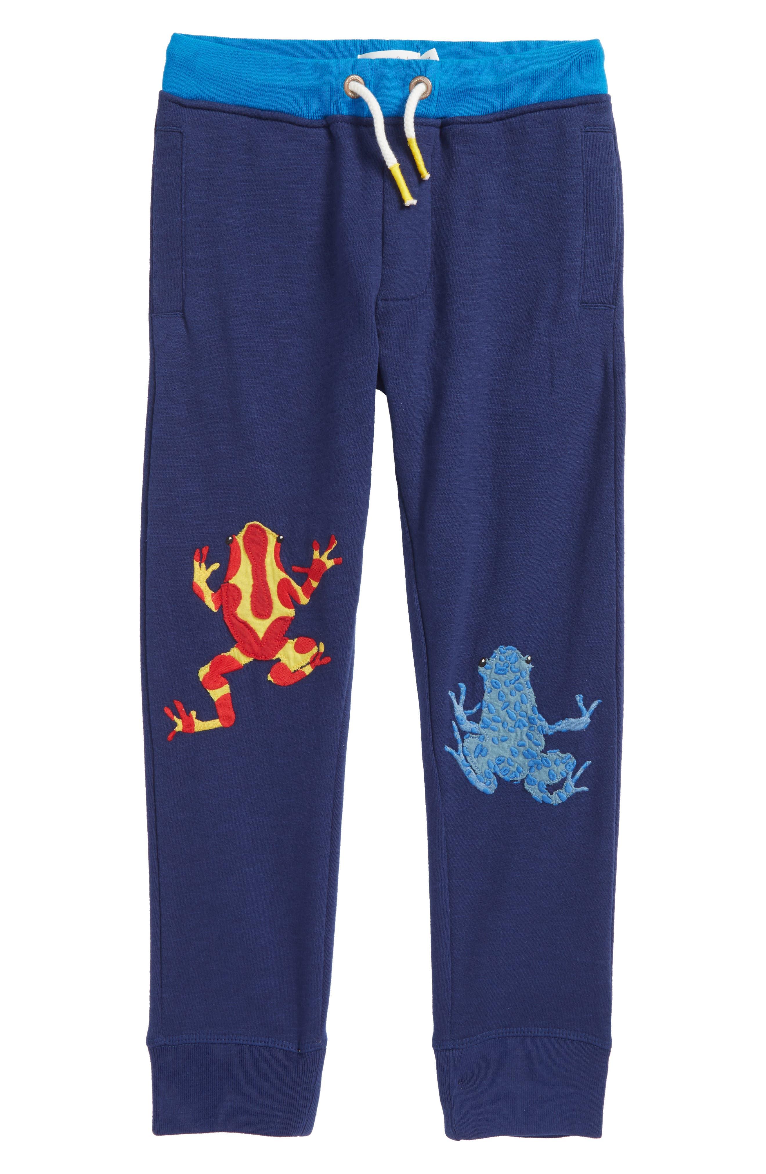 Frog Appliqué Jogger Sweatpants,                         Main,                         color,
