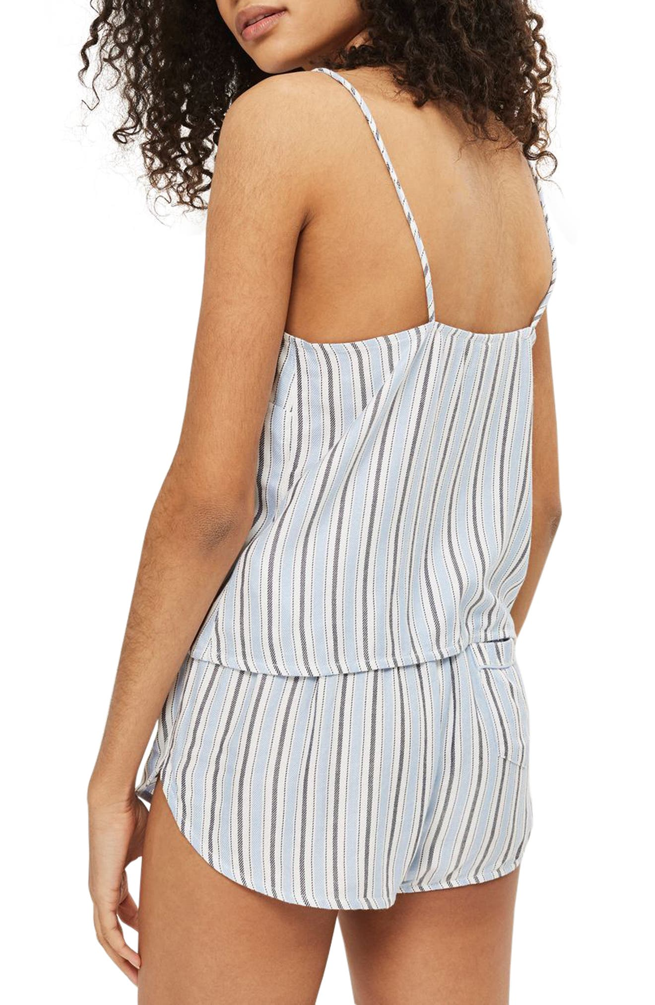 Bobby Stripe Pajama Tank,                             Alternate thumbnail 3, color,