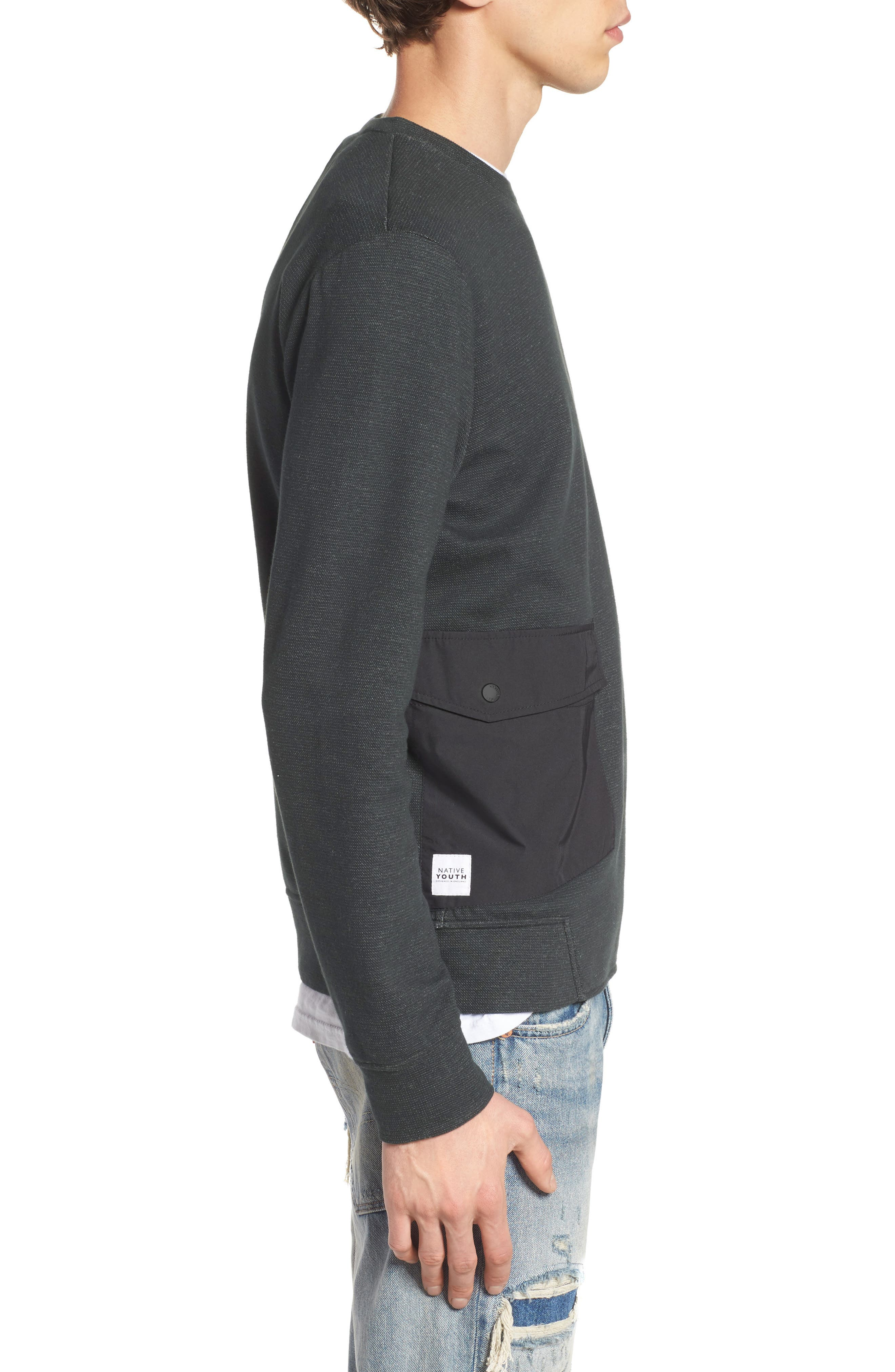Oracle Sweatshirt,                             Alternate thumbnail 3, color,                             300