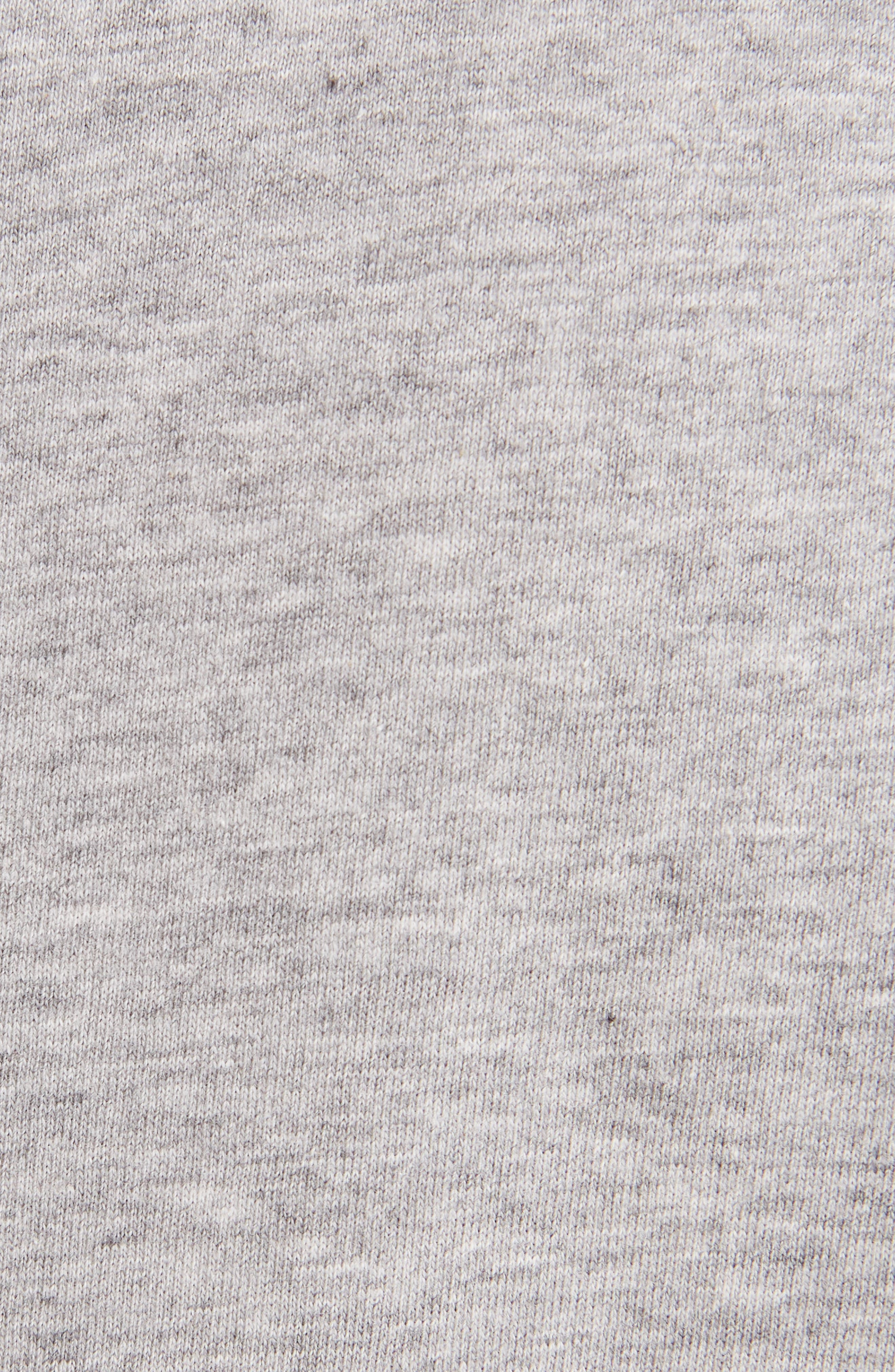Mesh Jersey Crewneck T-Shirt,                             Alternate thumbnail 5, color,