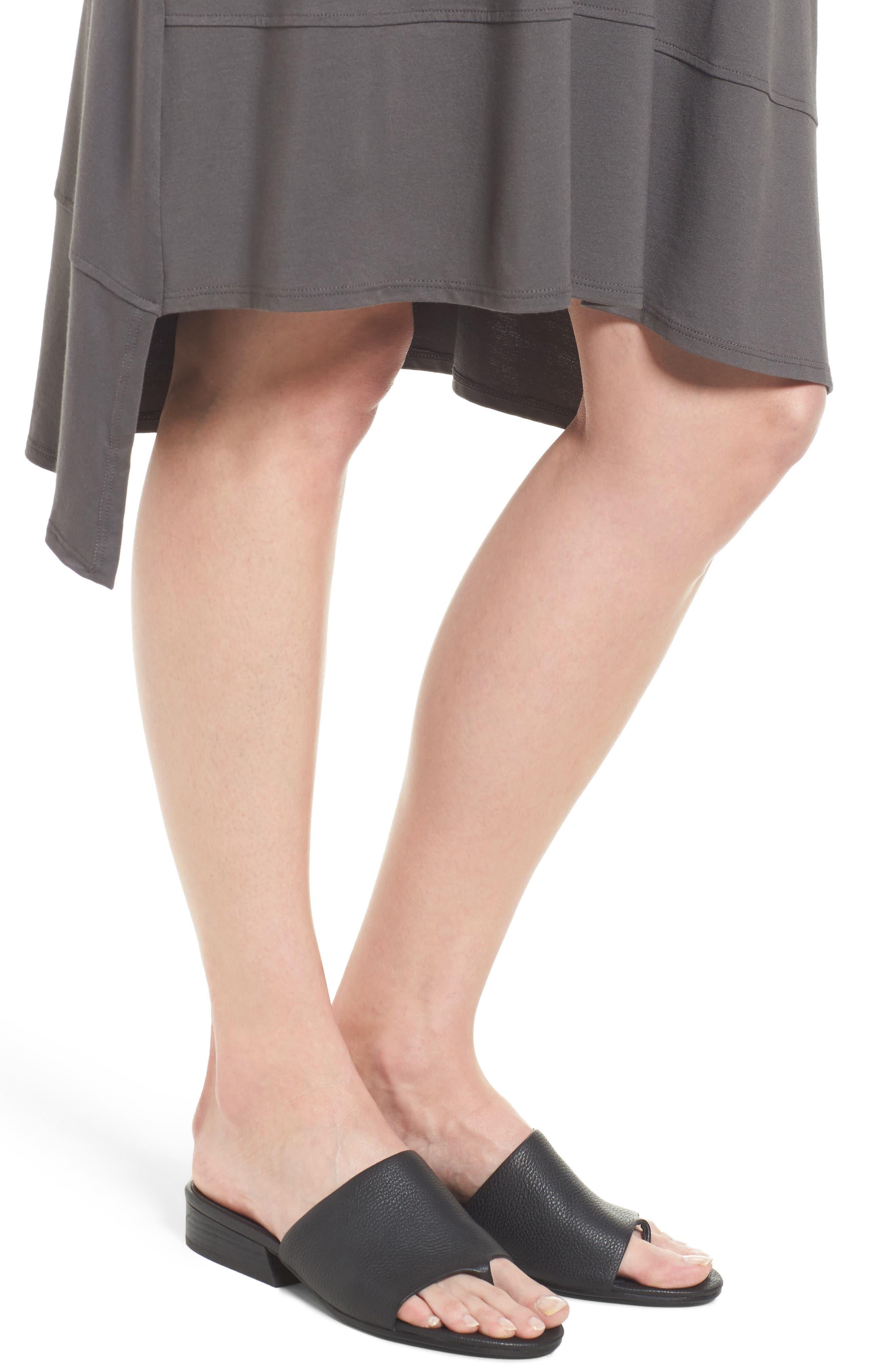 Jersey Asymmetrical A-Line Dress,                             Alternate thumbnail 17, color,