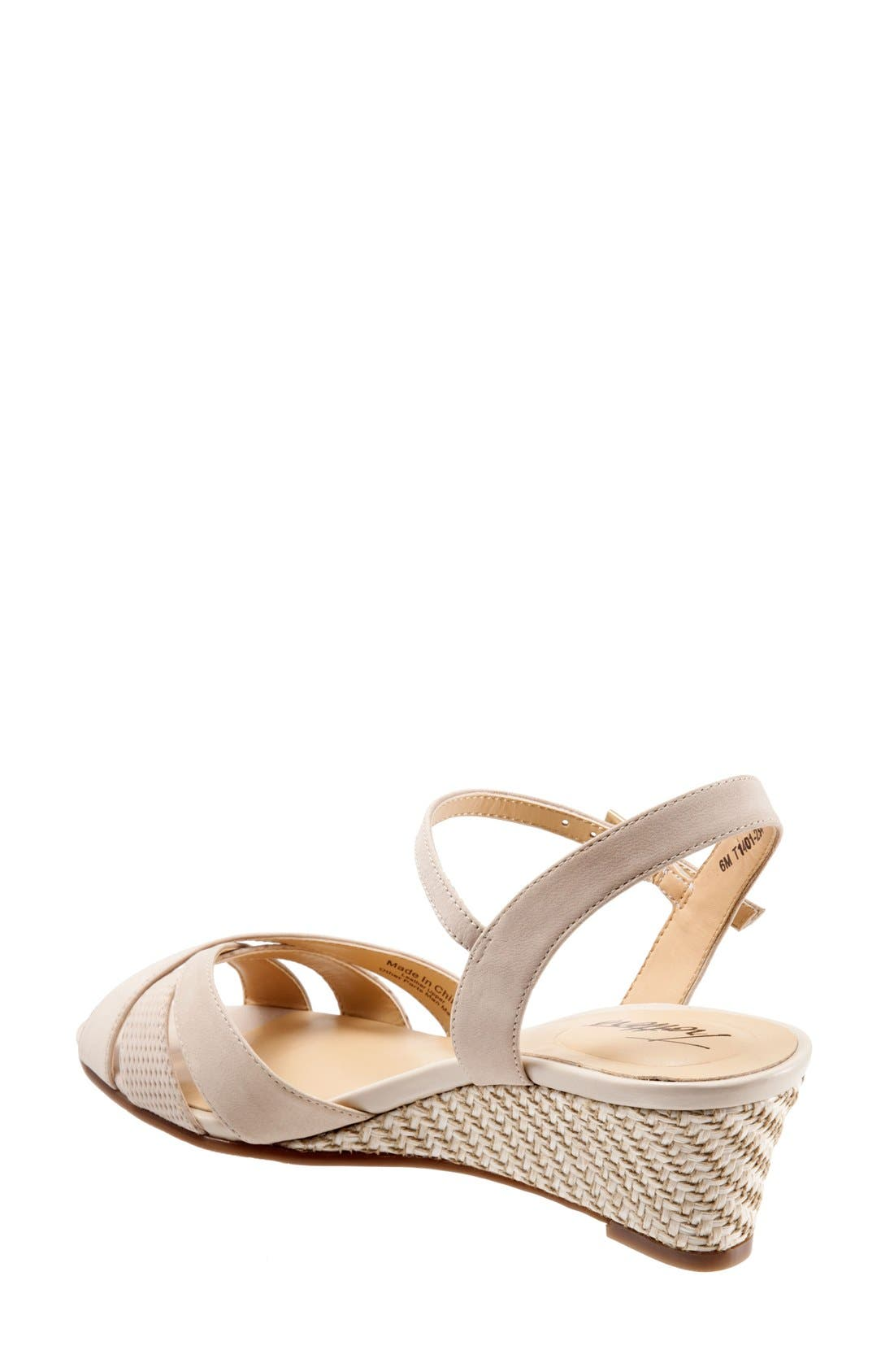'Mickey' Wedge Sandal,                             Alternate thumbnail 27, color,