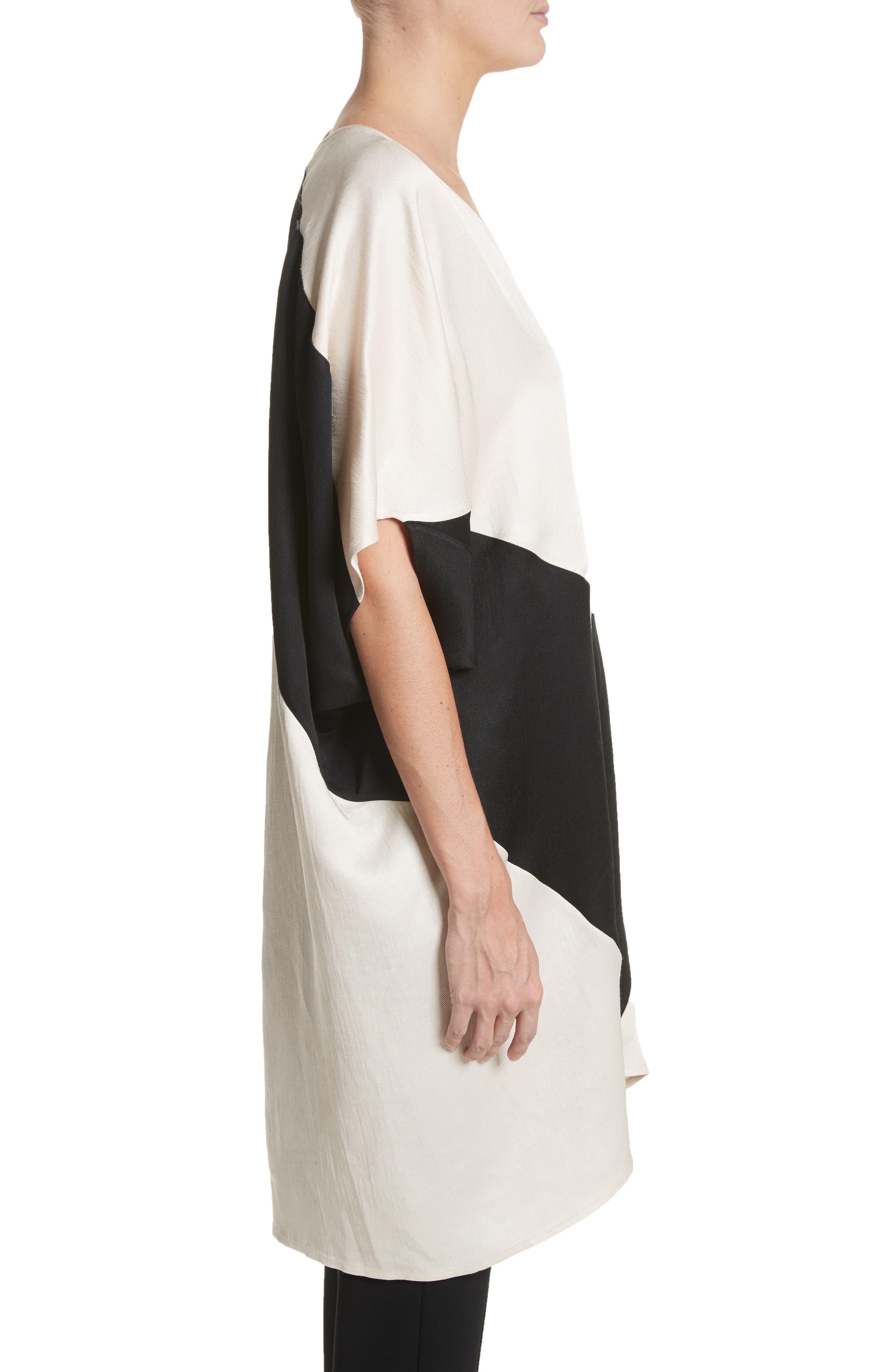 Colorblock Dress,                             Alternate thumbnail 3, color,                             902