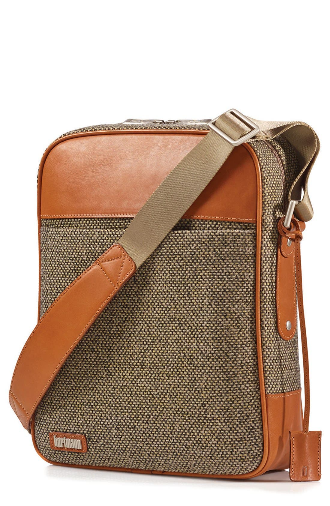 'Tweed Belting' Crossbody Bag,                             Main thumbnail 1, color,                             217