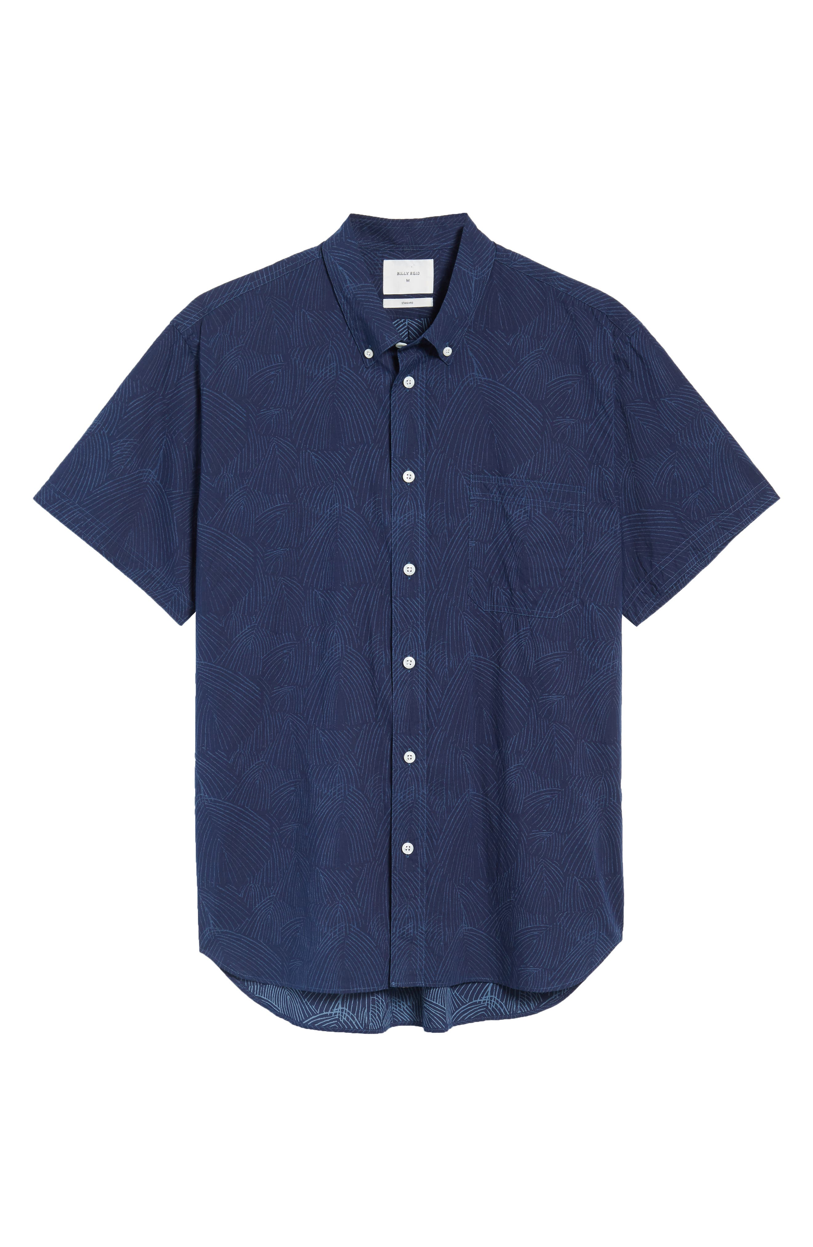 Tuscumbia Slim Fit Sport Shirt,                             Alternate thumbnail 6, color,                             407