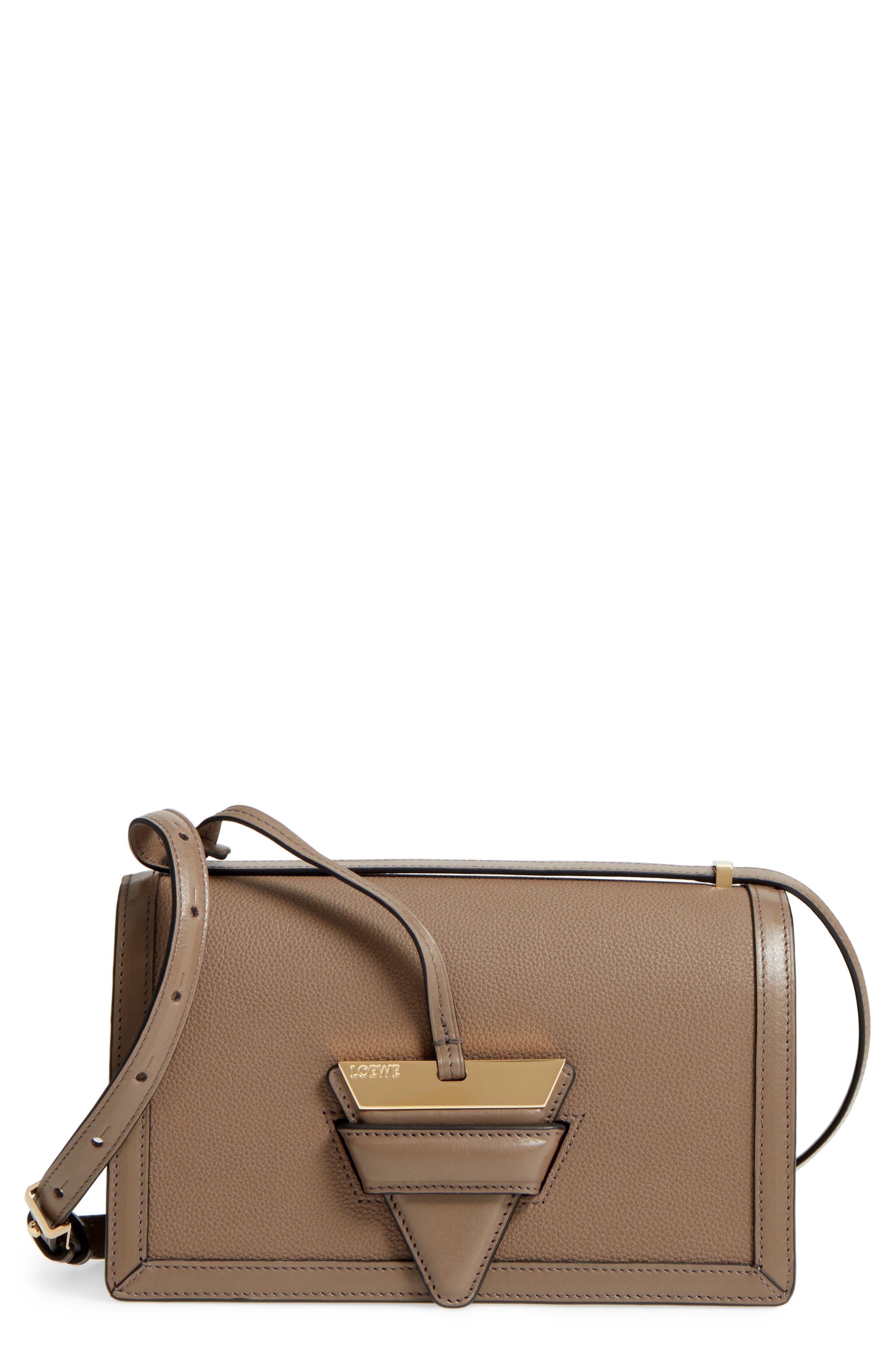 Medium Barcelona Leather Crossbody Bag,                         Main,                         color,