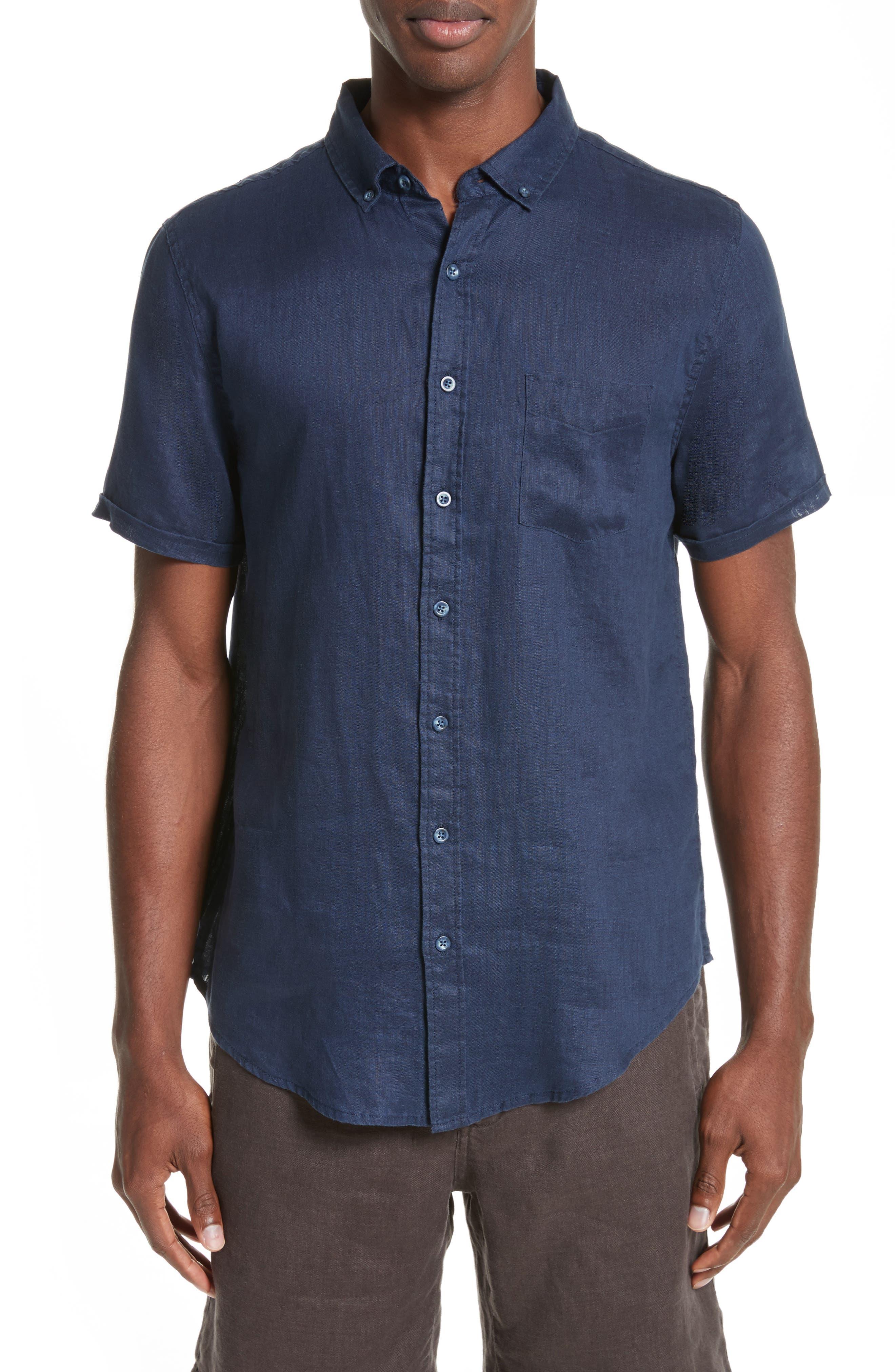 Jack Linen Sport Shirt,                         Main,                         color, 419