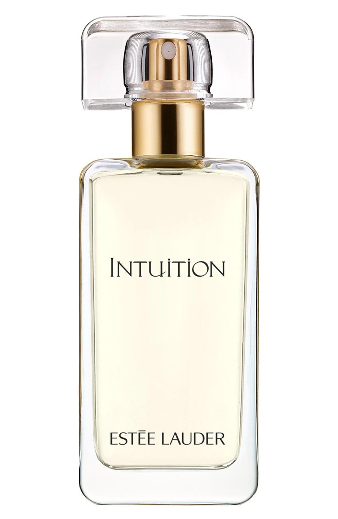 Intuition Eau de Parfum Spray,                             Main thumbnail 1, color,                             NO COLOR