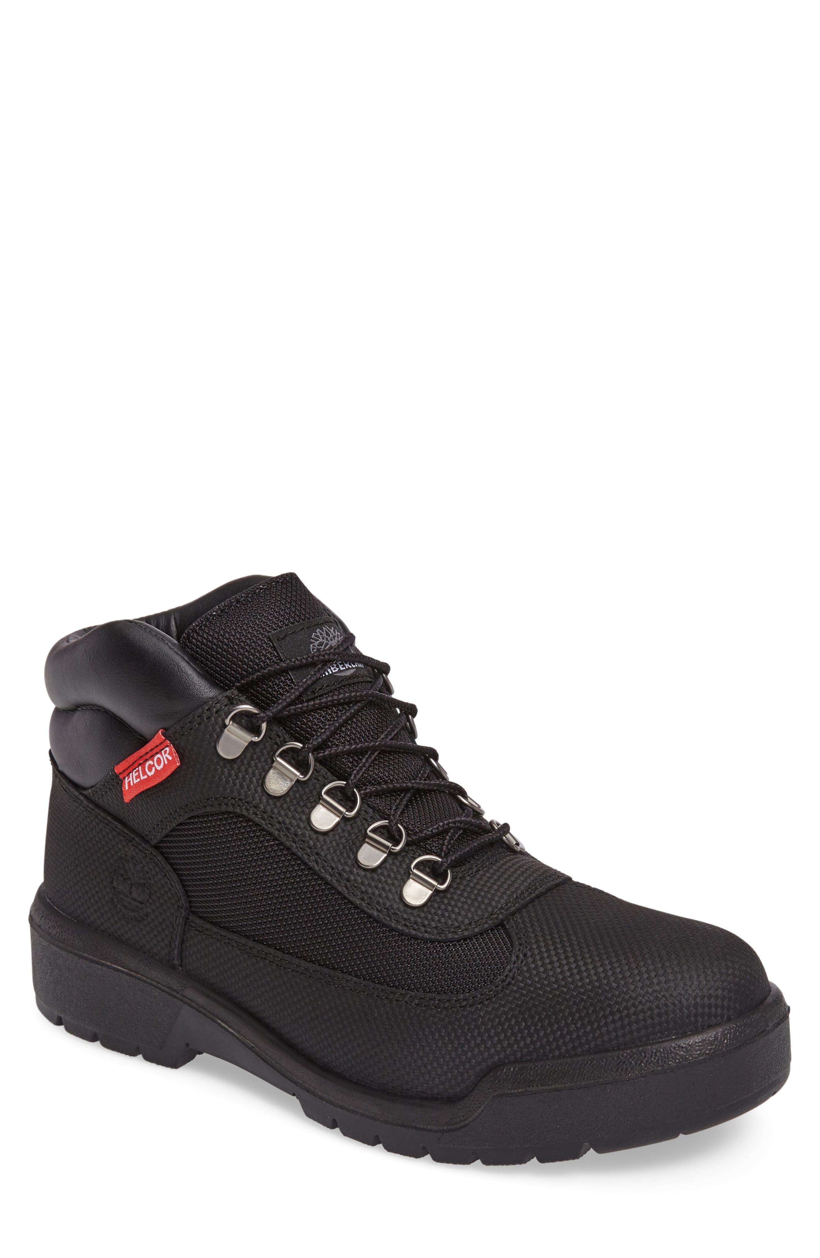 Field Waterproof Hiking Boot,                         Main,                         color, 001