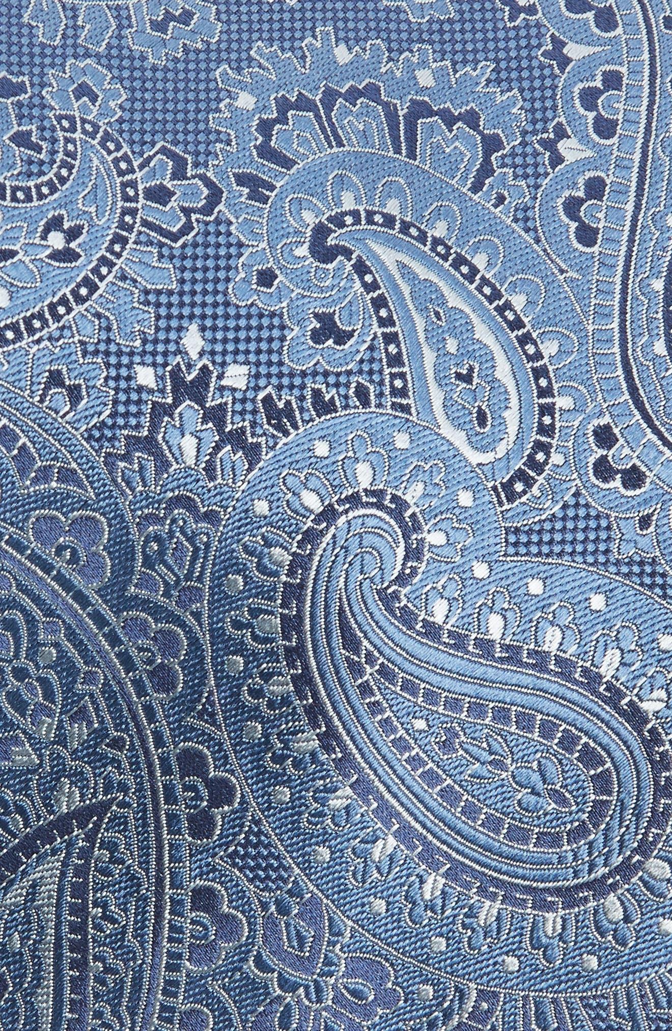 Paisley Silk Tie,                             Alternate thumbnail 2, color,                             BLUE MULTI