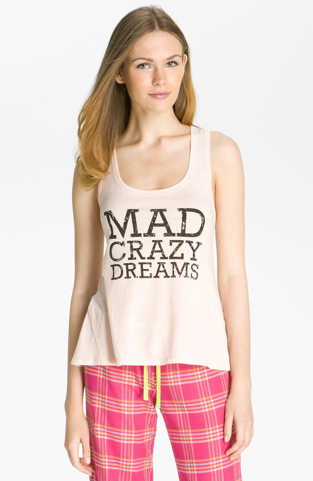 'Mad Crazy Dreams' Tank,                             Main thumbnail 9, color,