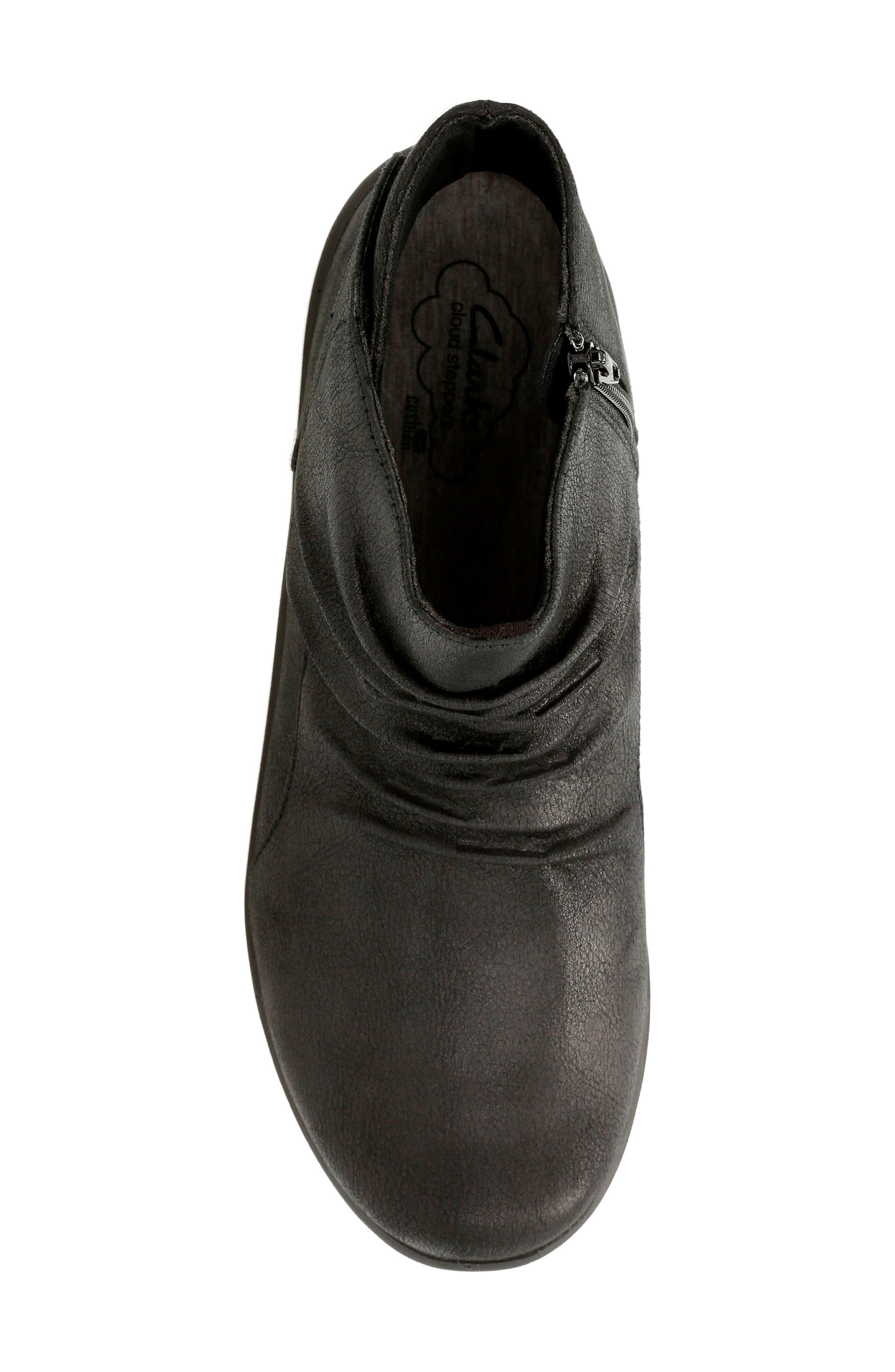 CLARKS<SUP>®</SUP>,                             'Sillian Chell' Boot,                             Alternate thumbnail 4, color,                             005