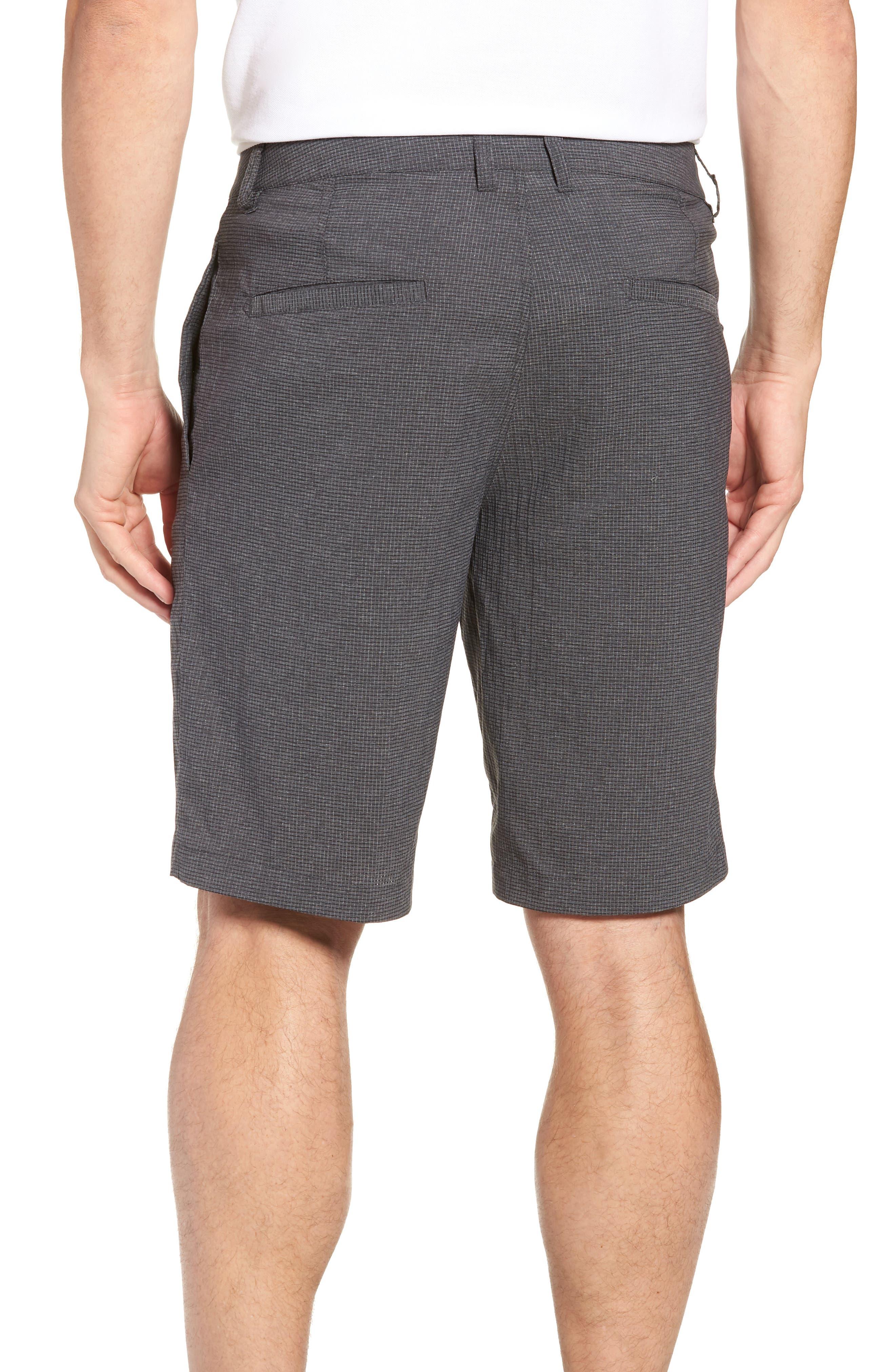 Peel Out Shorts,                             Alternate thumbnail 2, color,                             GREY PINSTRIPE