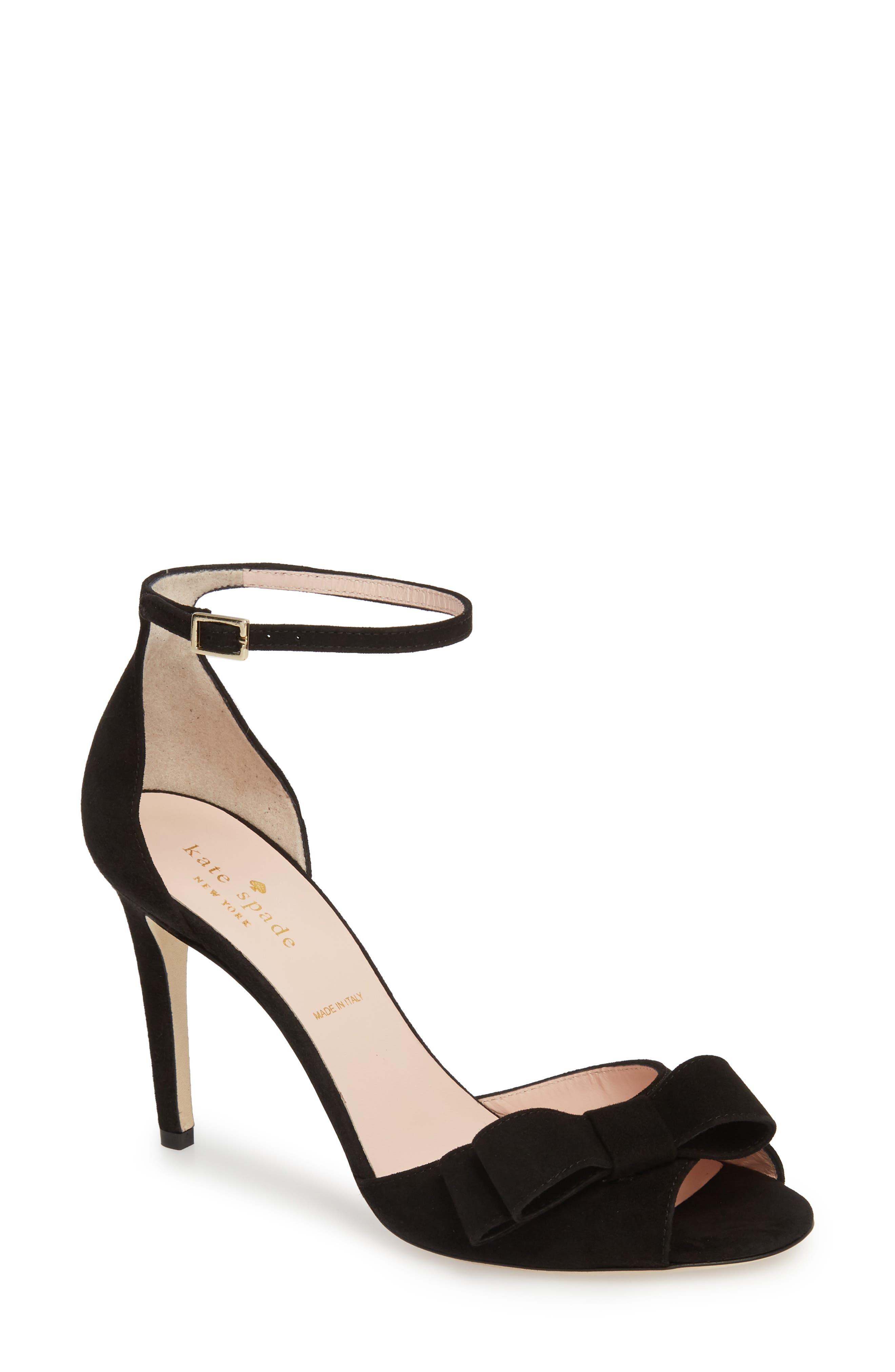 ismay ankle strap sandal,                             Main thumbnail 1, color,                             001