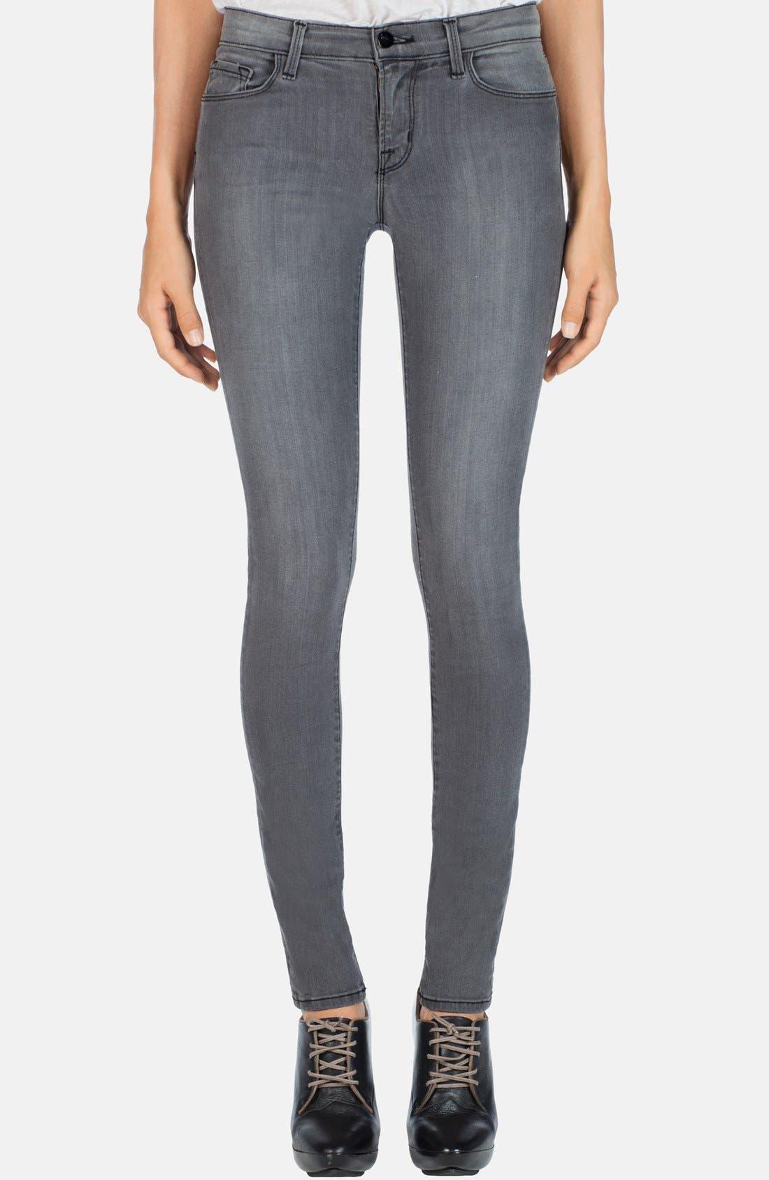 '620' Mid Rise Skinny Jeans,                             Main thumbnail 4, color,