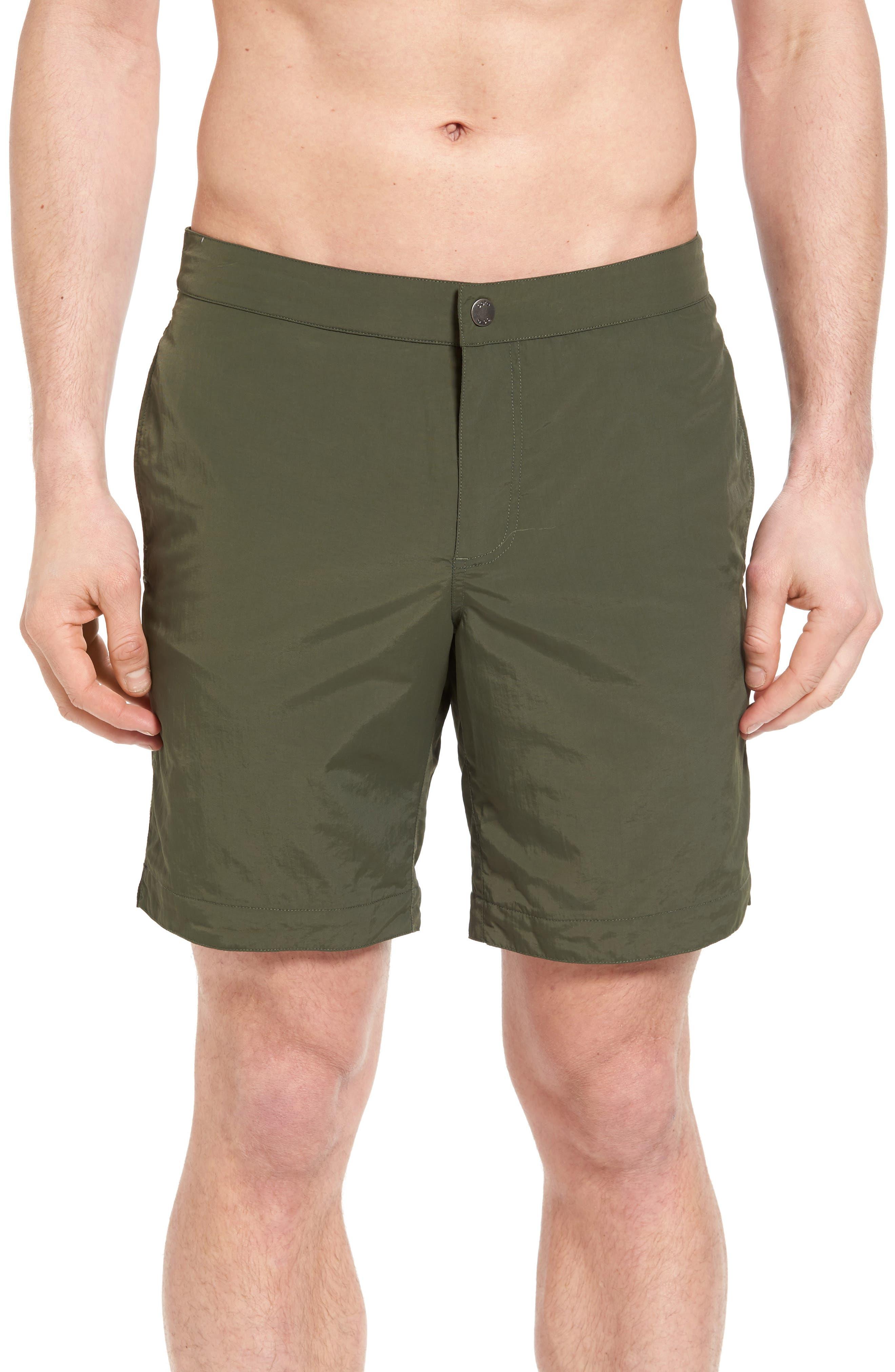 'Aruba - Island' Tailored Fit 8.5 Inch Board Shorts,                             Main thumbnail 2, color,