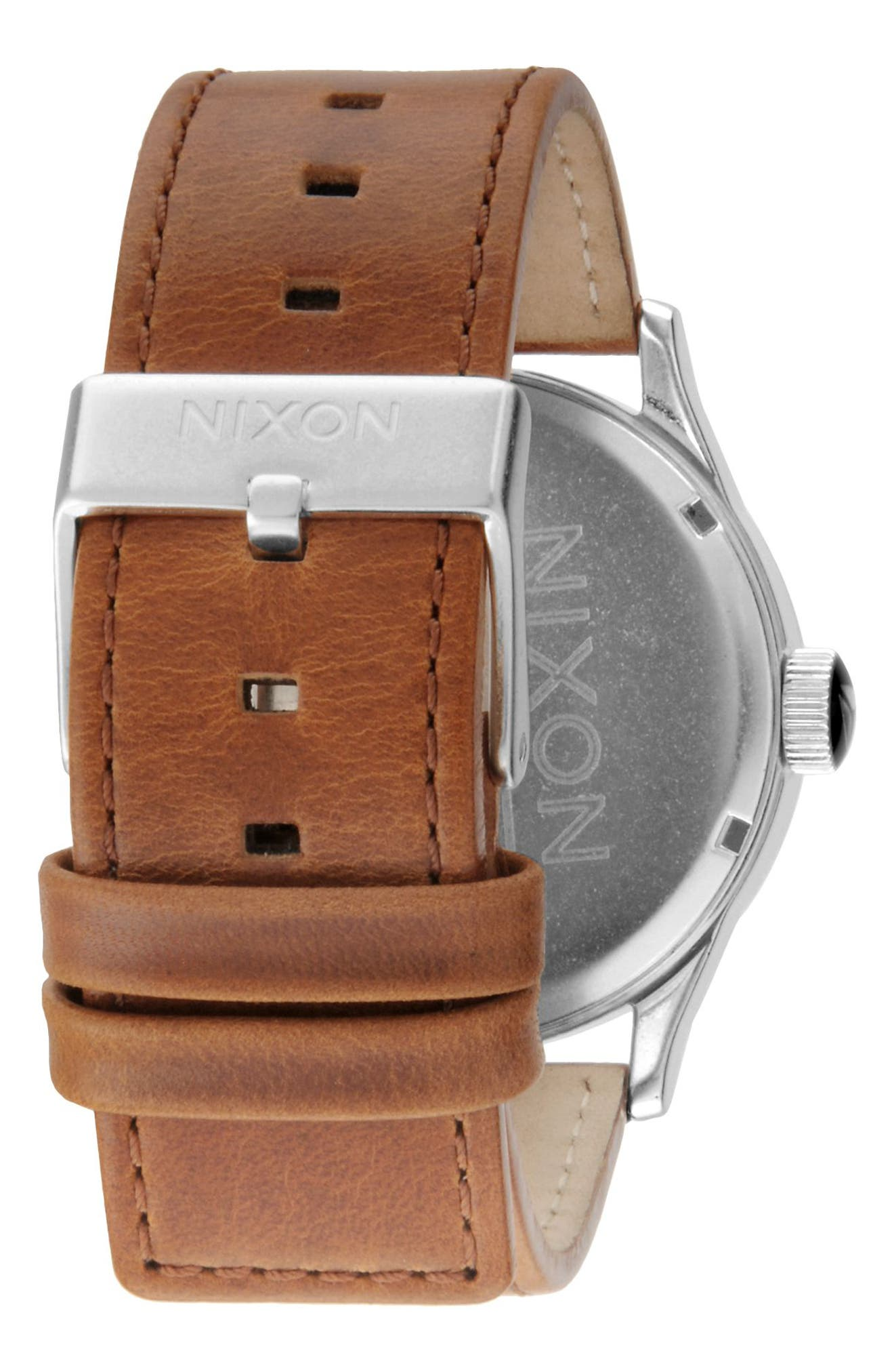 The Sentry Leather Strap Watch, 42mm,                             Alternate thumbnail 84, color,