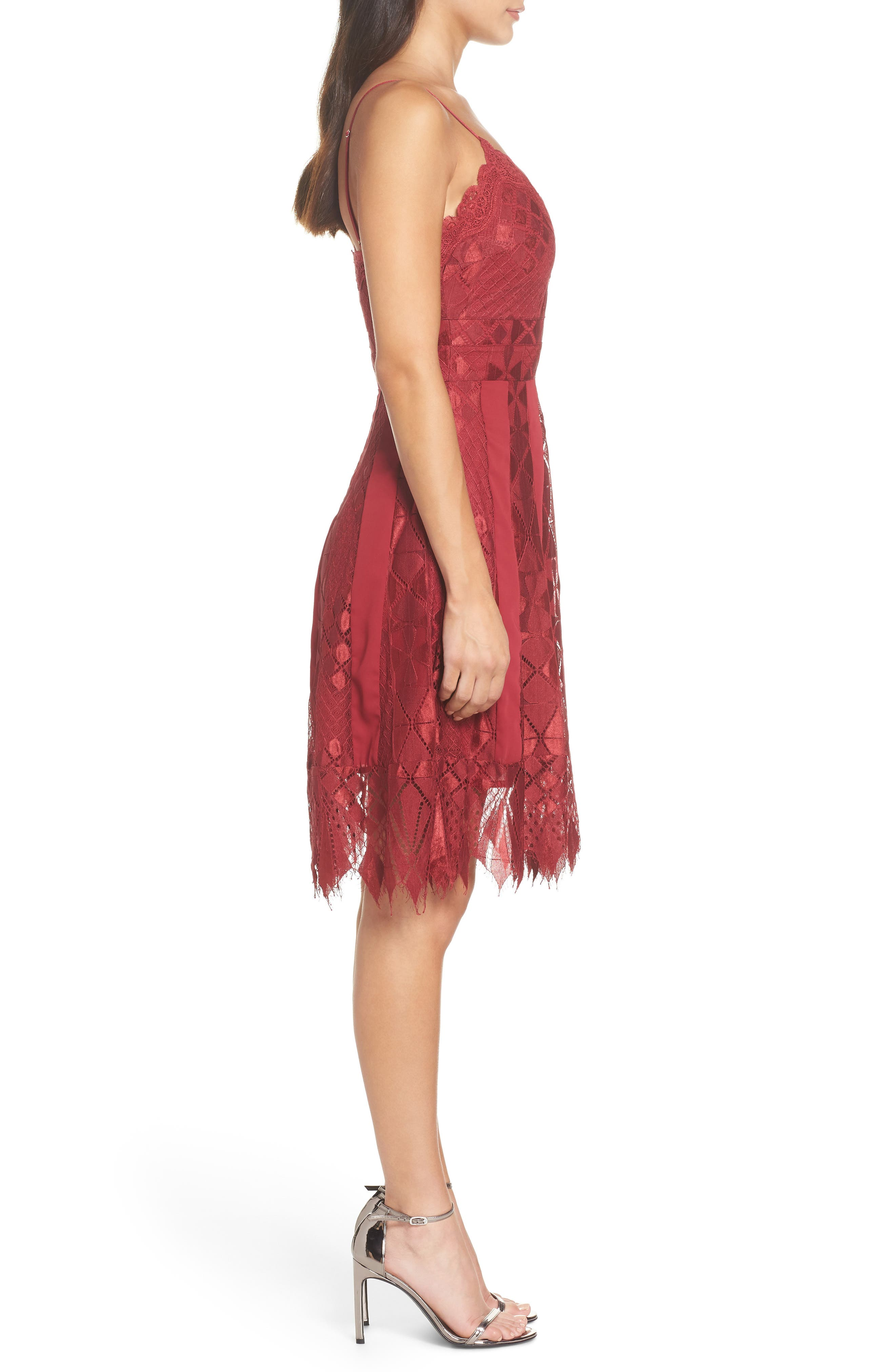 Calla Lace Dress,                             Alternate thumbnail 3, color,                             930