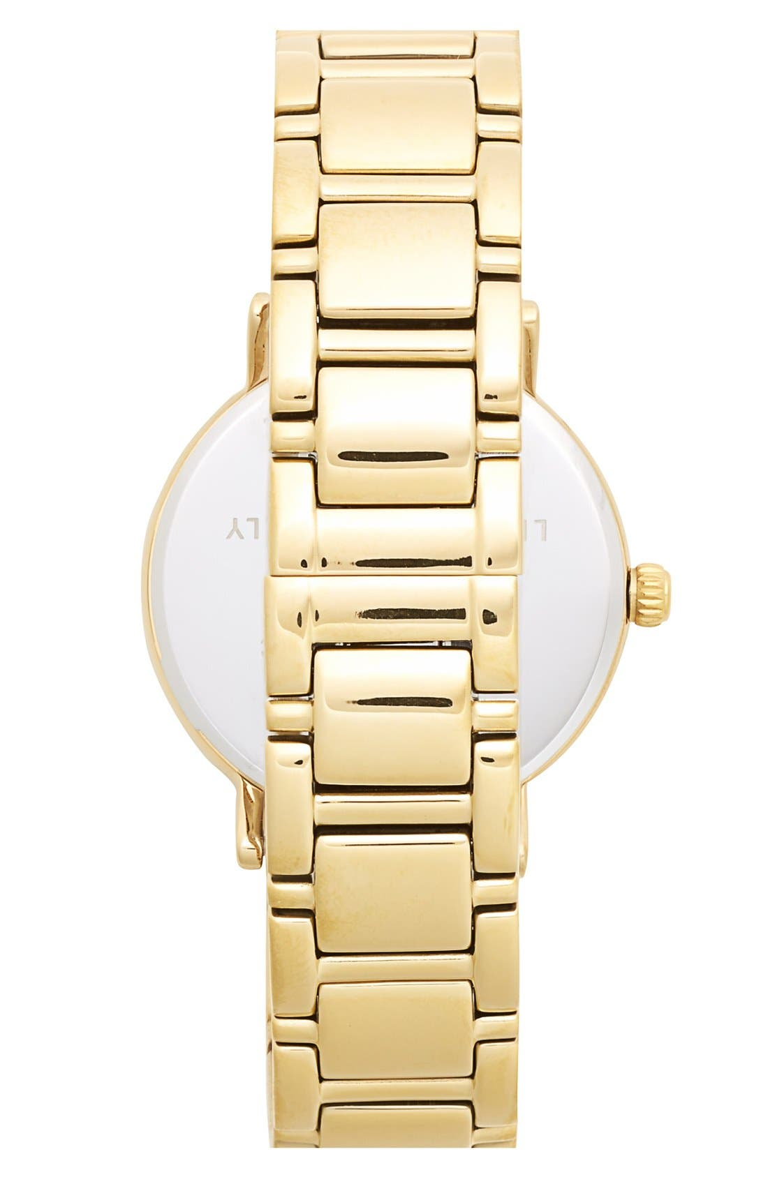 'gramercy' crystal marker watch, 34mm,                             Alternate thumbnail 4, color,