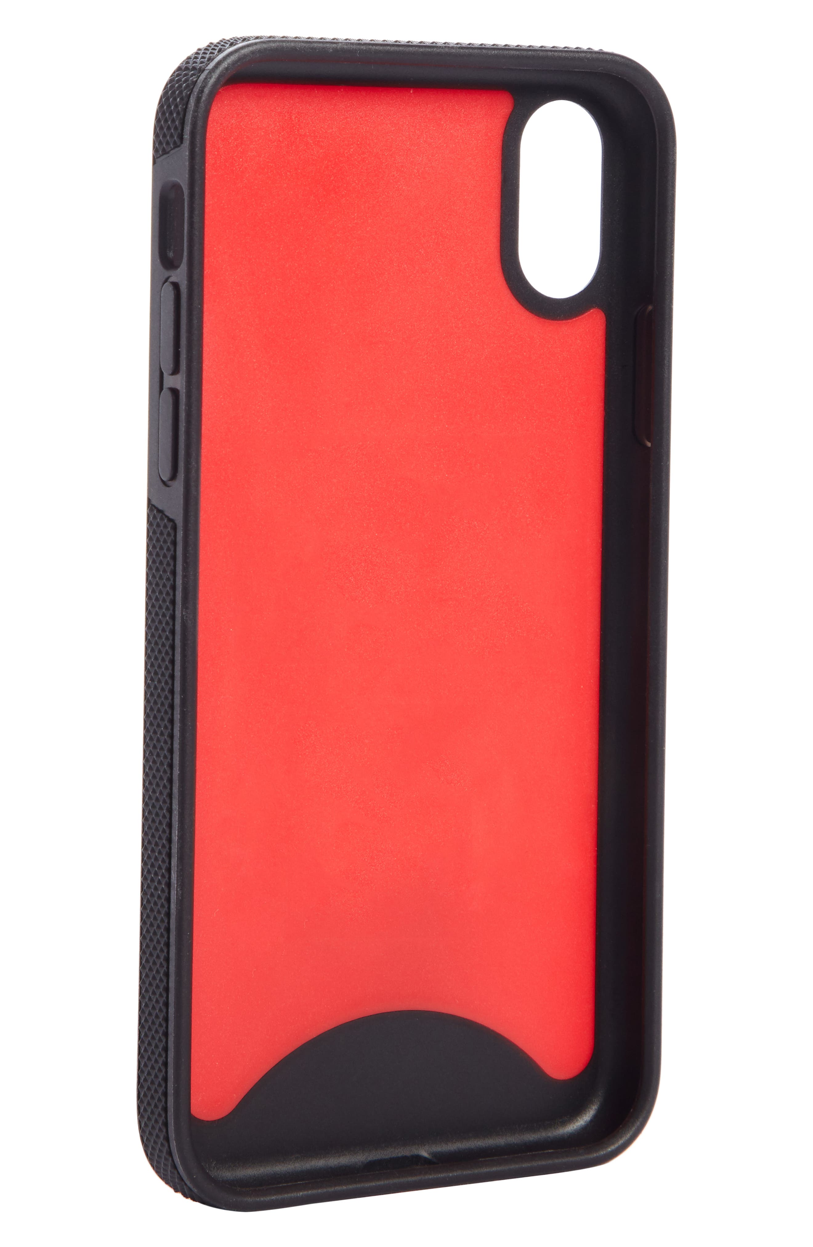 CHRISTIAN LOUBOUTIN,                             Loubiphone Sneaker iPhone X Case,                             Alternate thumbnail 2, color,                             600