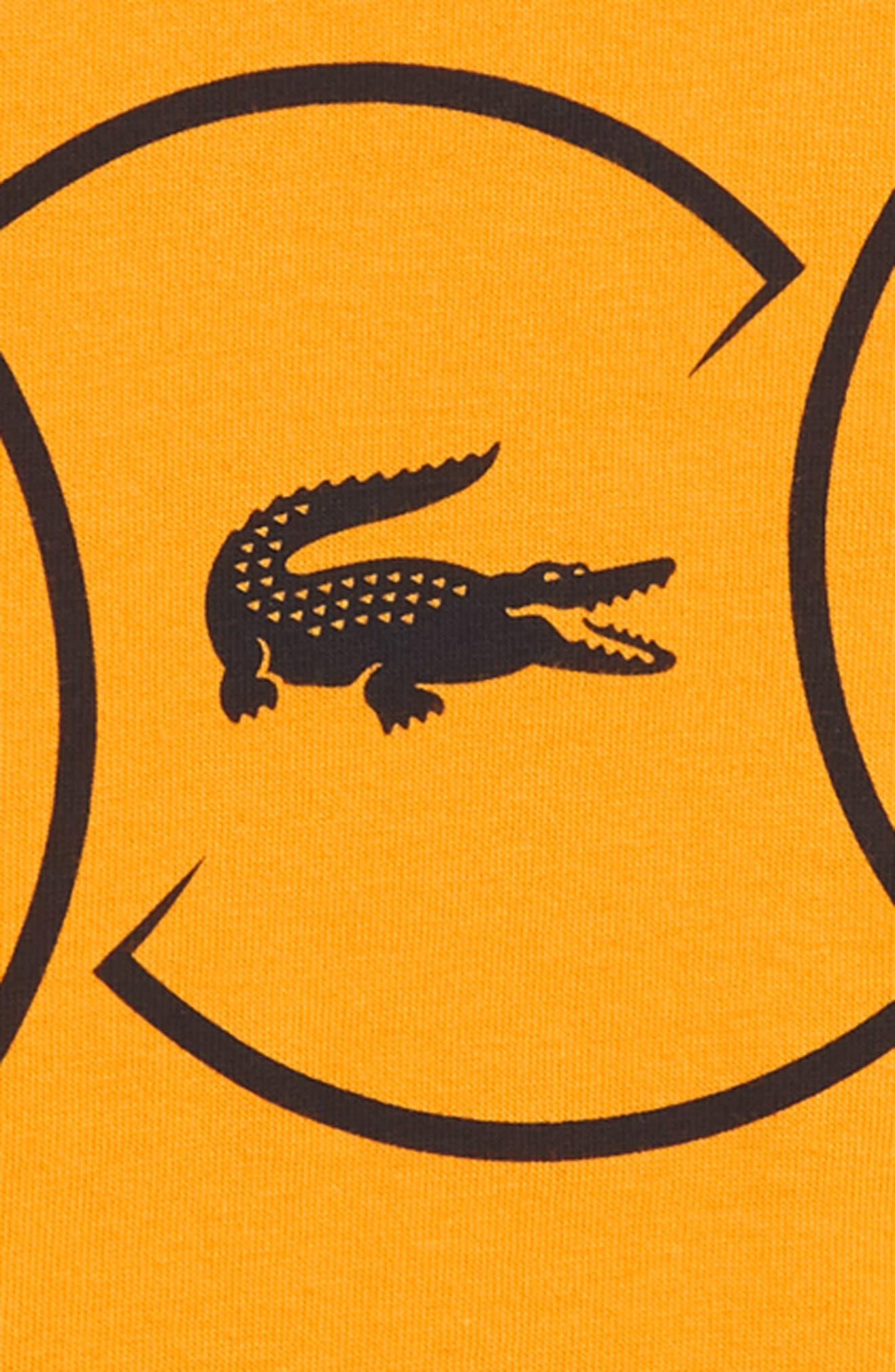 Croc Logo T-Shirt,                             Alternate thumbnail 2, color,                             NAVY