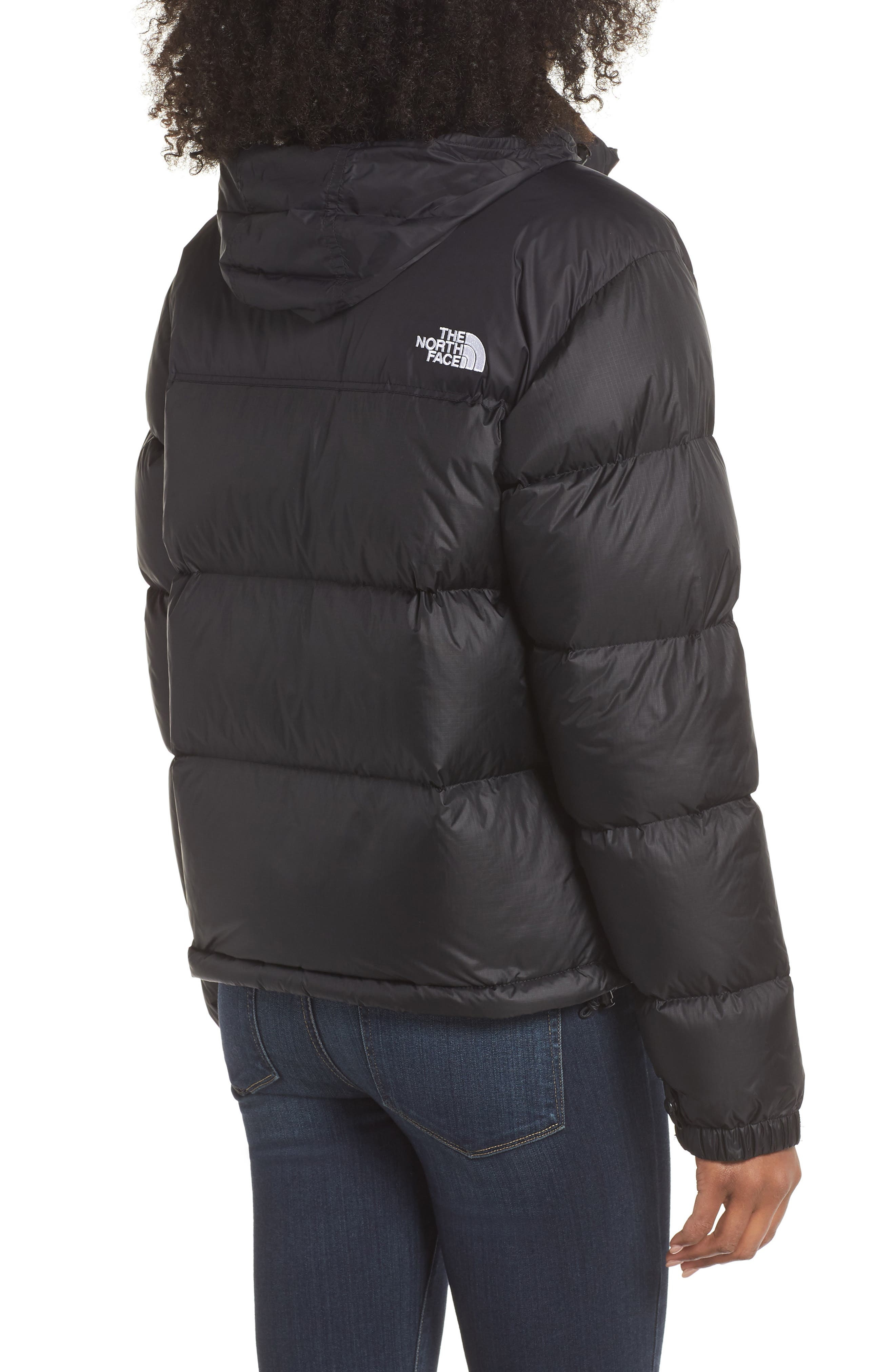 Nuptse 1996 Packable Quilted Down Jacket,                             Alternate thumbnail 2, color,                             TNF BLACK