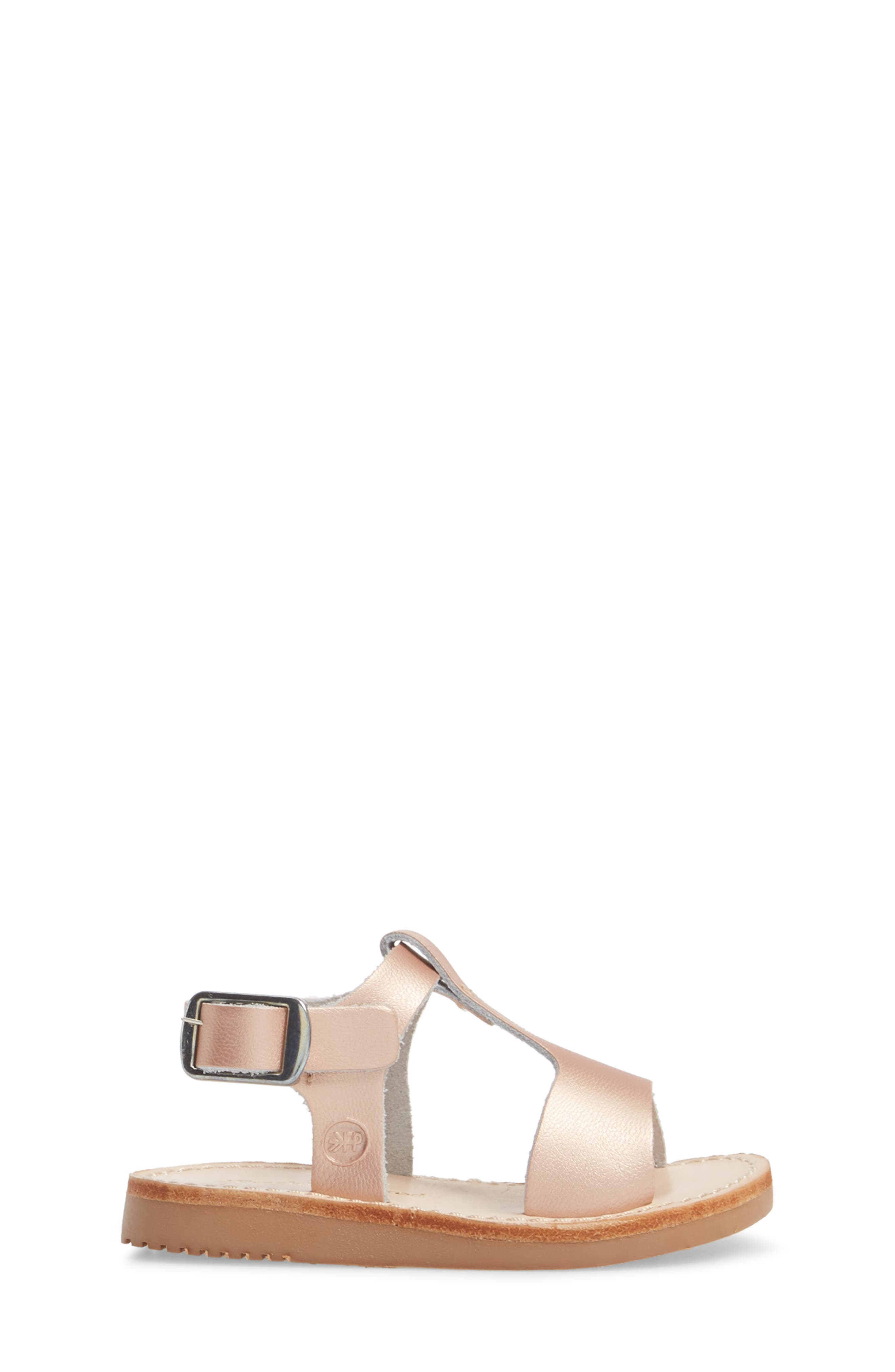 Malibu Water Resistant Sandal,                             Alternate thumbnail 3, color,                             ROSE GOLD