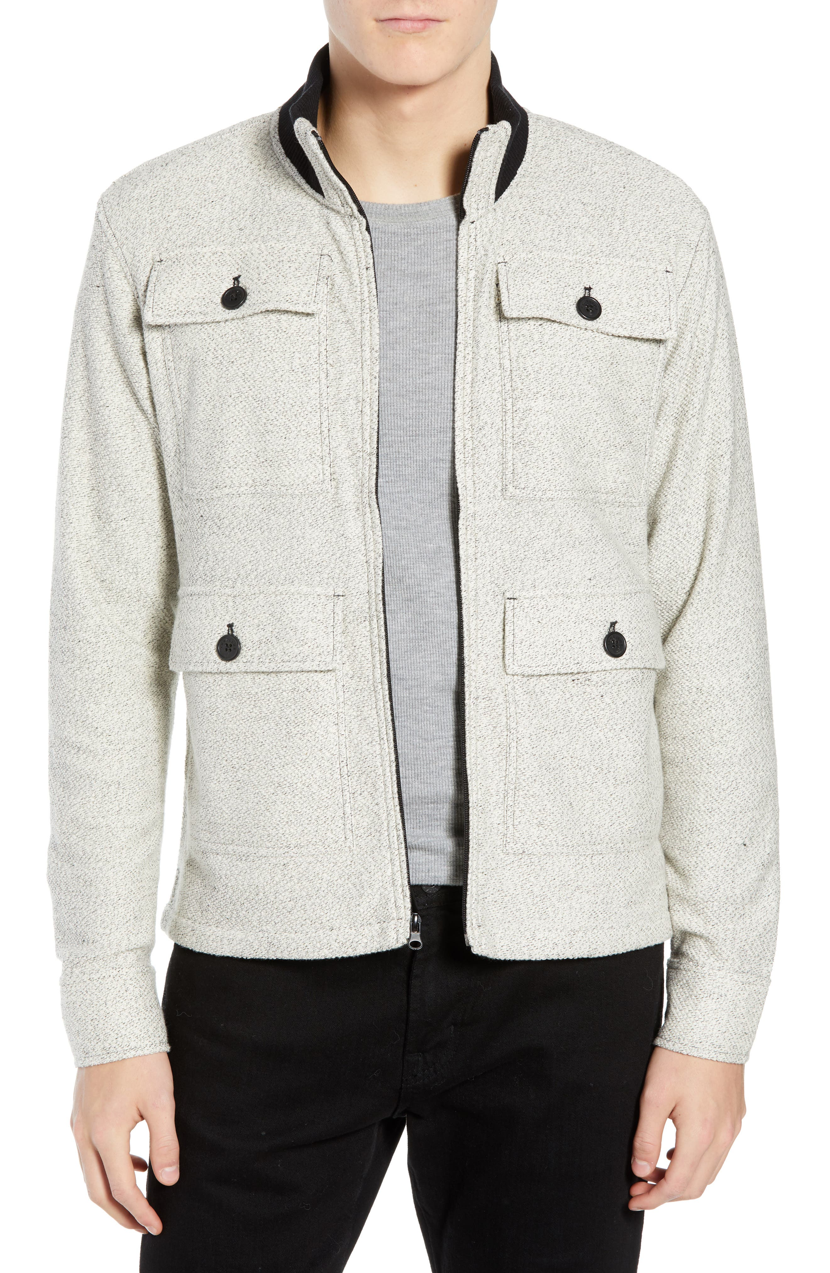 The Best 4-Pocket Jacket,                         Main,                         color, CREAM