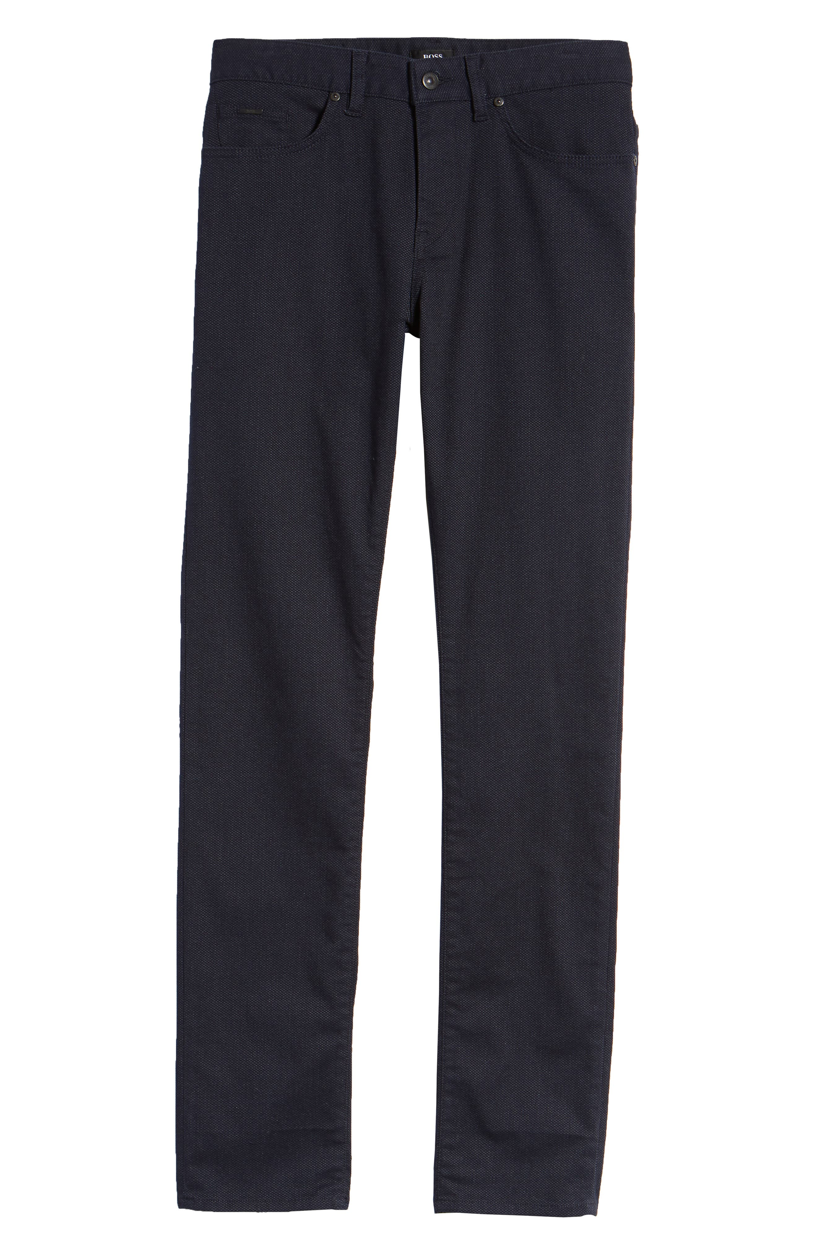 Delaware Slim Fit Jeans,                             Alternate thumbnail 6, color,                             NAVY