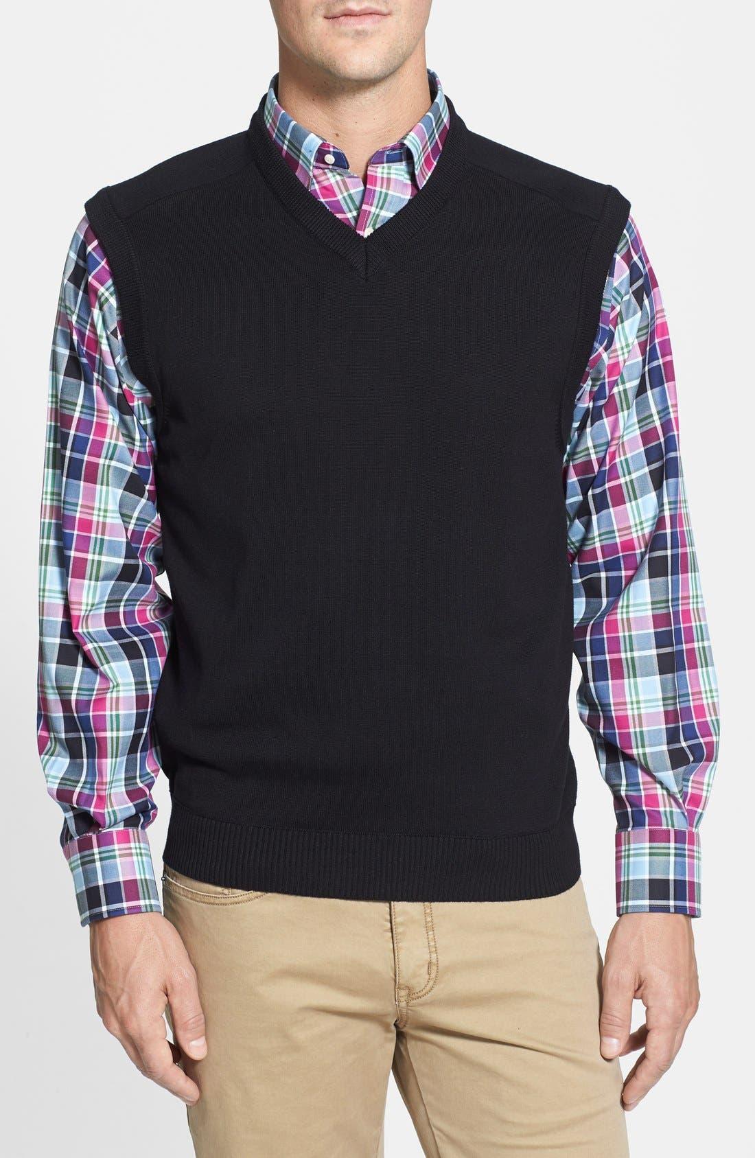 Broadview V-Neck Sweater Vest,                             Main thumbnail 2, color,