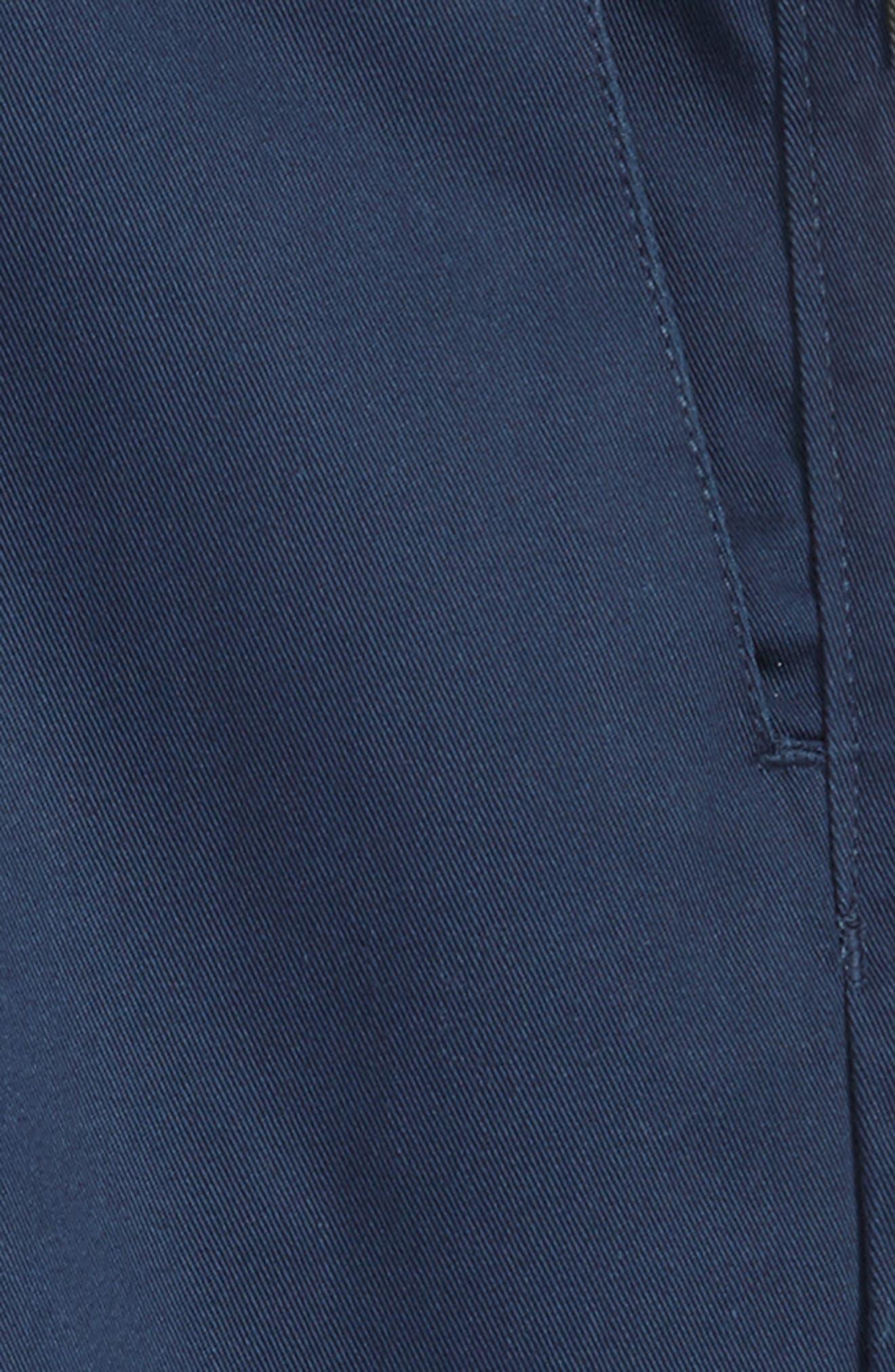 Chino Shorts,                             Alternate thumbnail 2, color,                             SERVICE BLUE