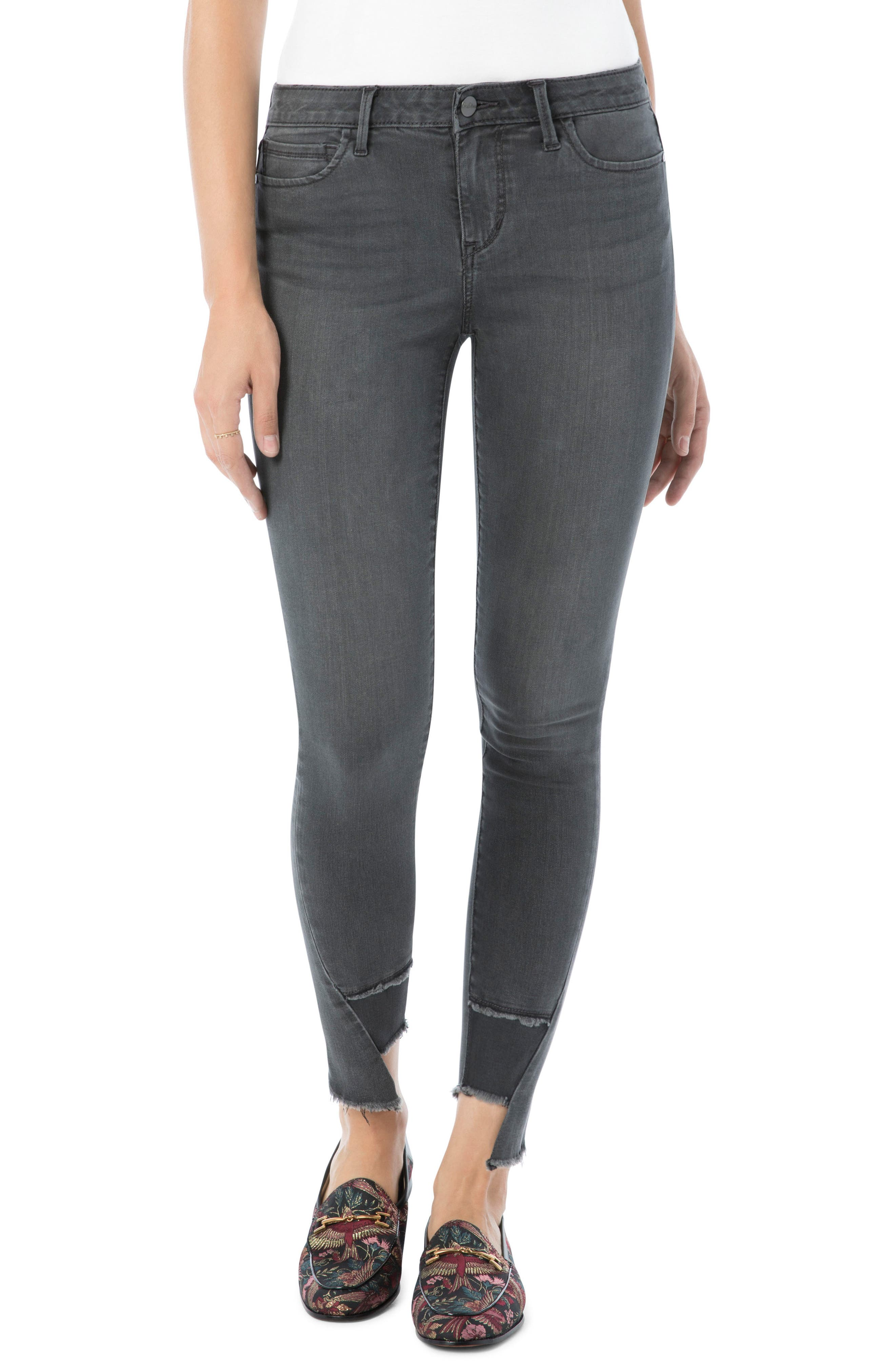 The Kitten Ankle Jeans,                             Main thumbnail 1, color,                             025